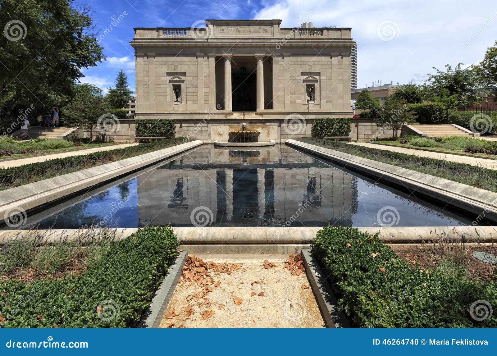 Mening aan Rodin Museum in Philadelphia, Pennsylvania, de V.S.