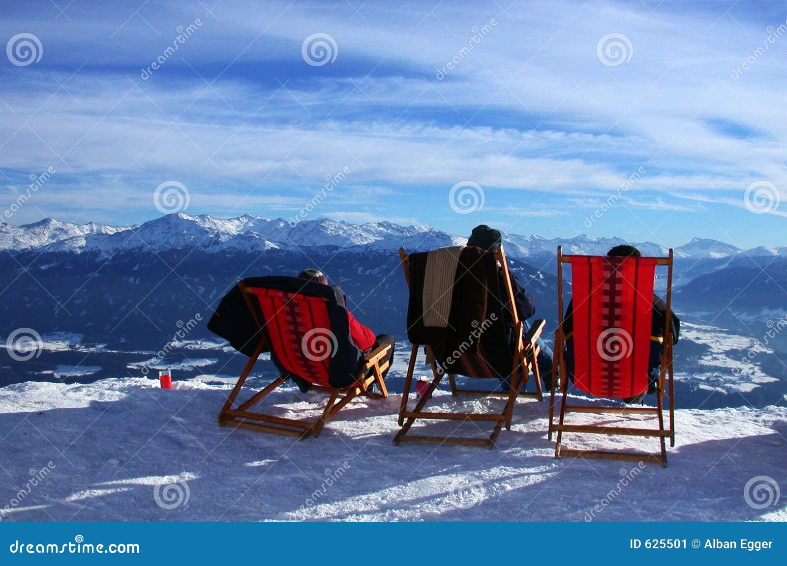 Mening aan sneeuw
