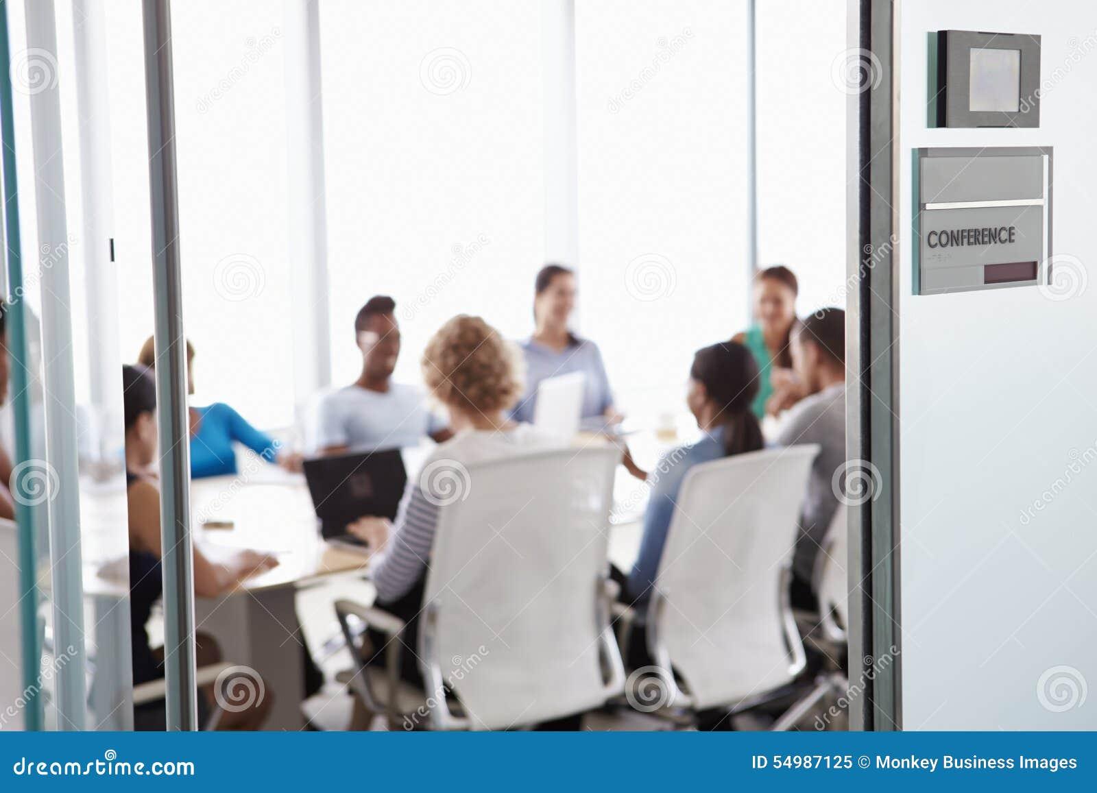 Mening door Deur van Conferentiezaal aan Commerciële Vergadering
