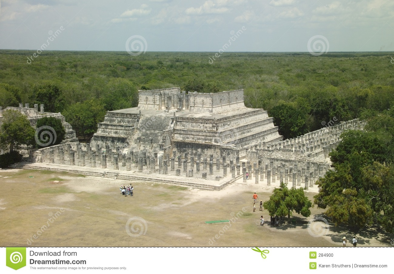 Mening over wildernis Chichen Itza