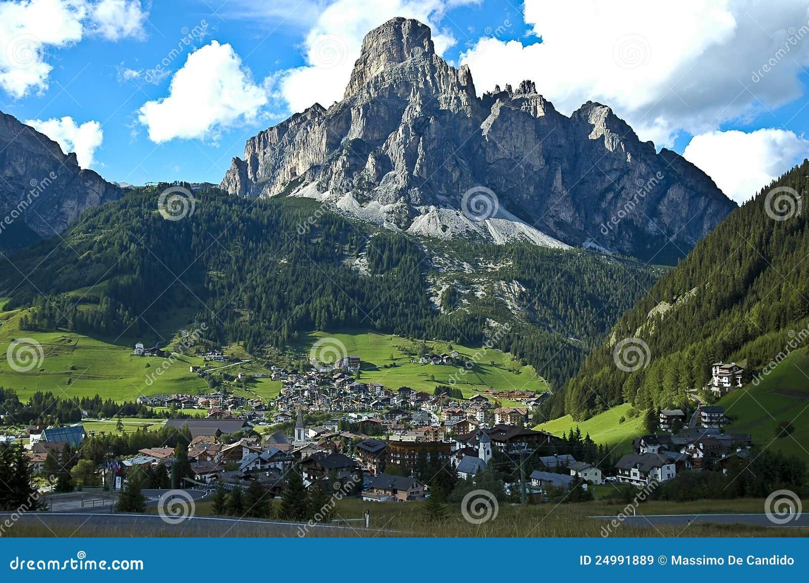 Mening van Corvara, Alta Badia - Dolomiet
