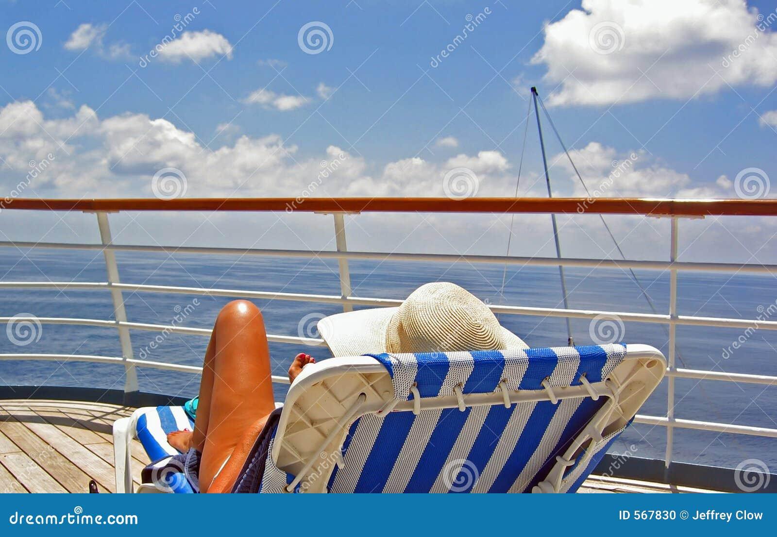 Mening van het Dek van de Cruise