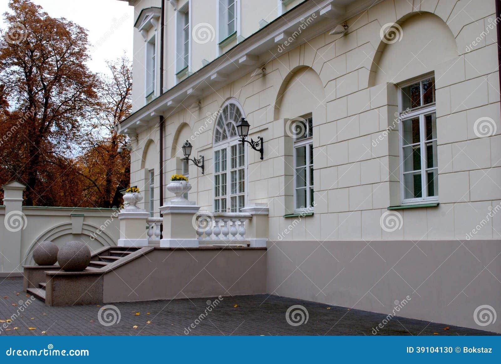Mening van het Presidentiële Paleis in Vilnius