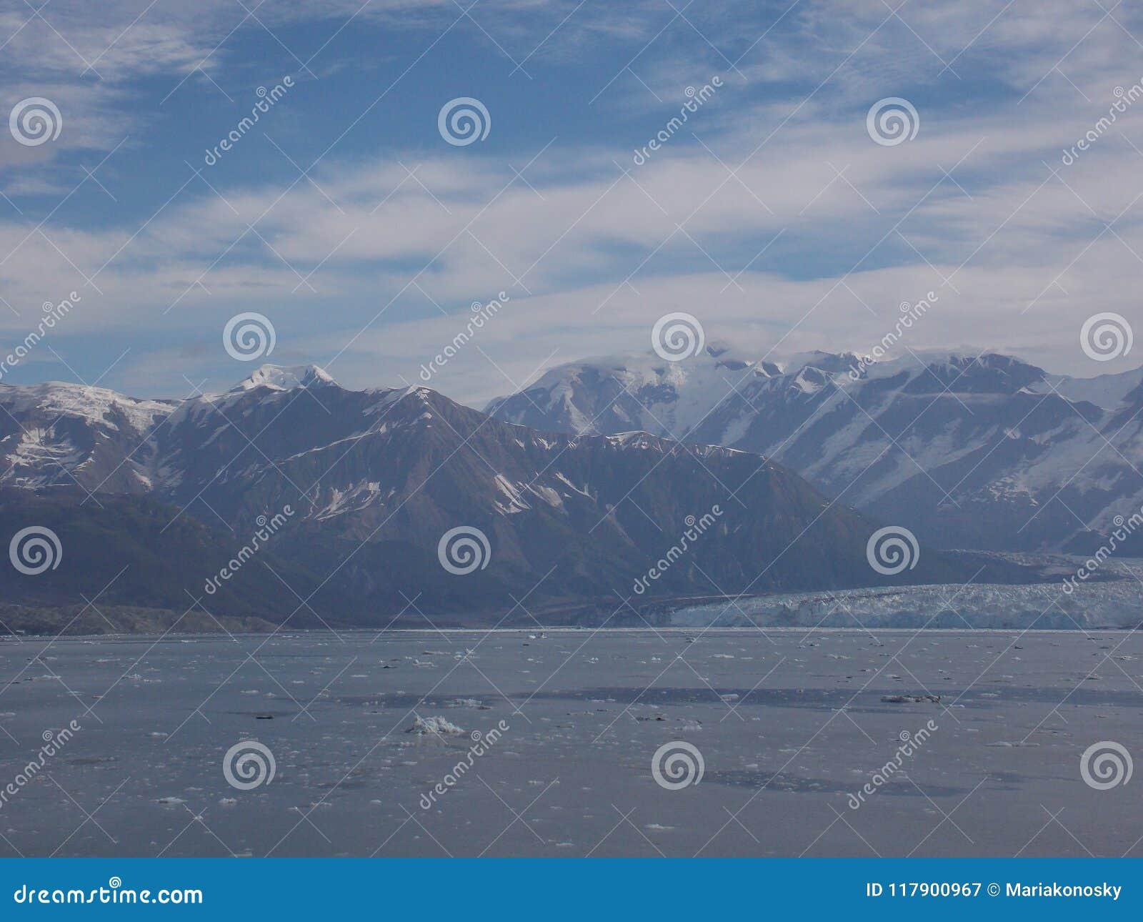 Mening van Hubbard-Gletsjer