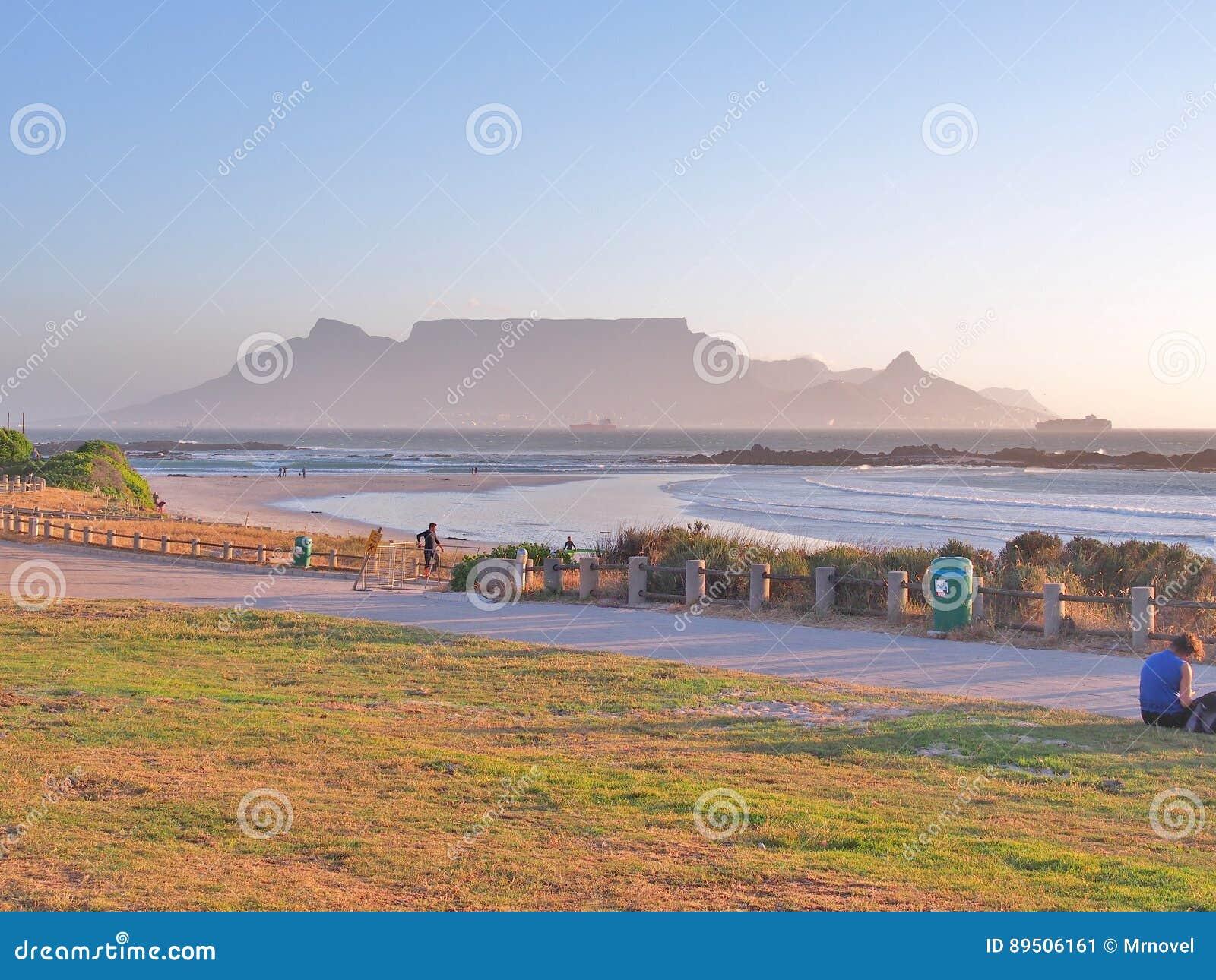 Mening van Lijstberg en Cape Town