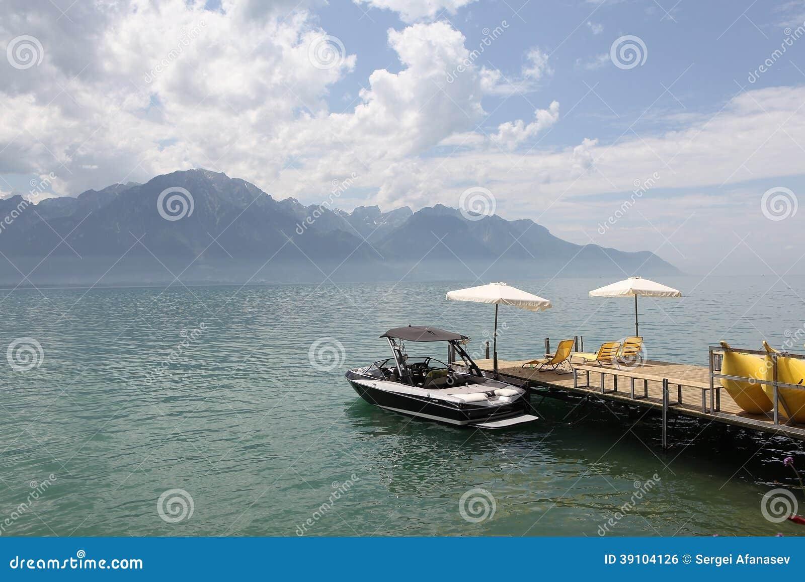 Mening van Meer Genève van Montreux