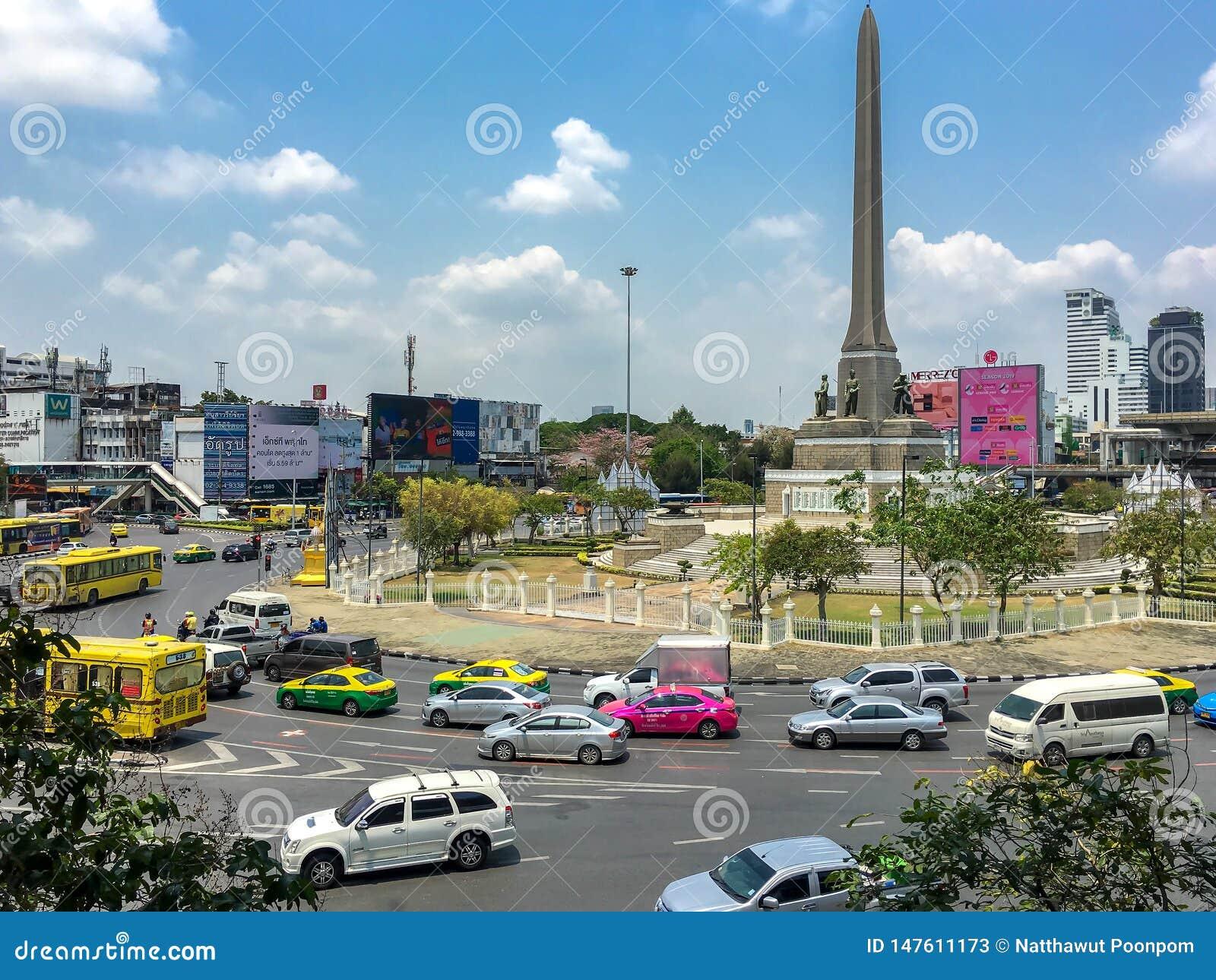 Mening van Victory Monument het grote militaire monument