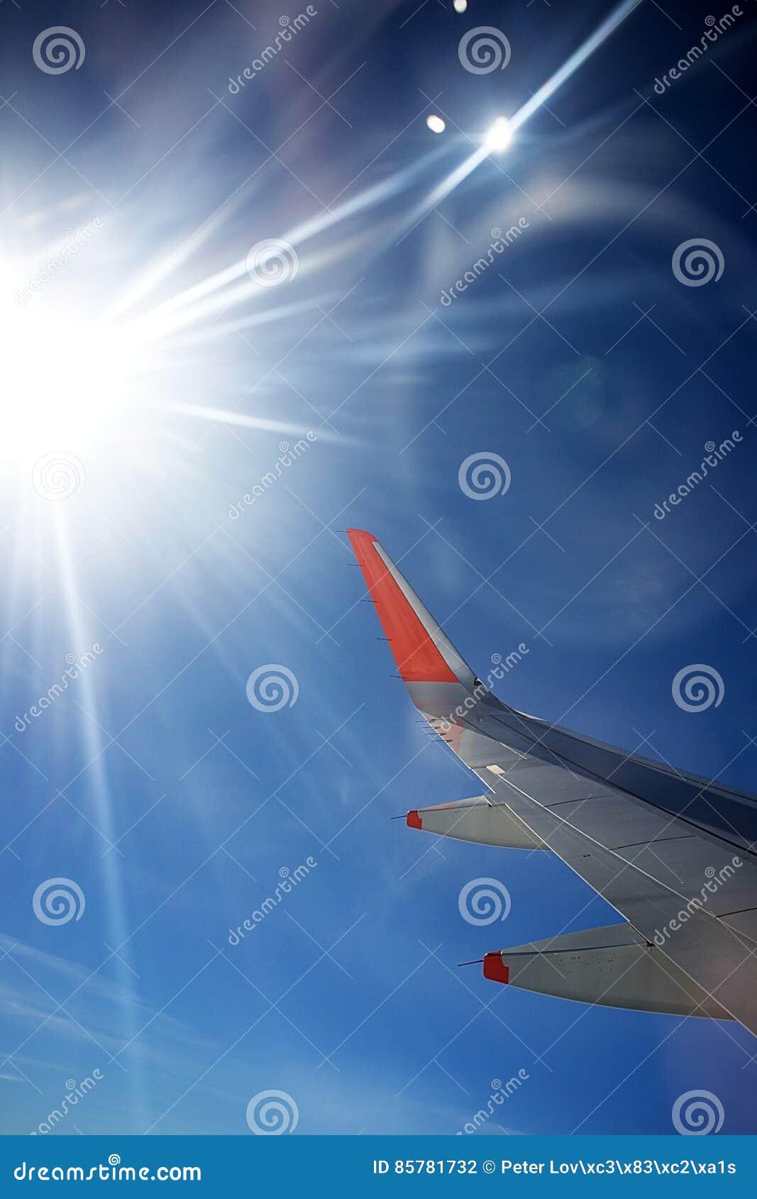 Mening van vliegtuig