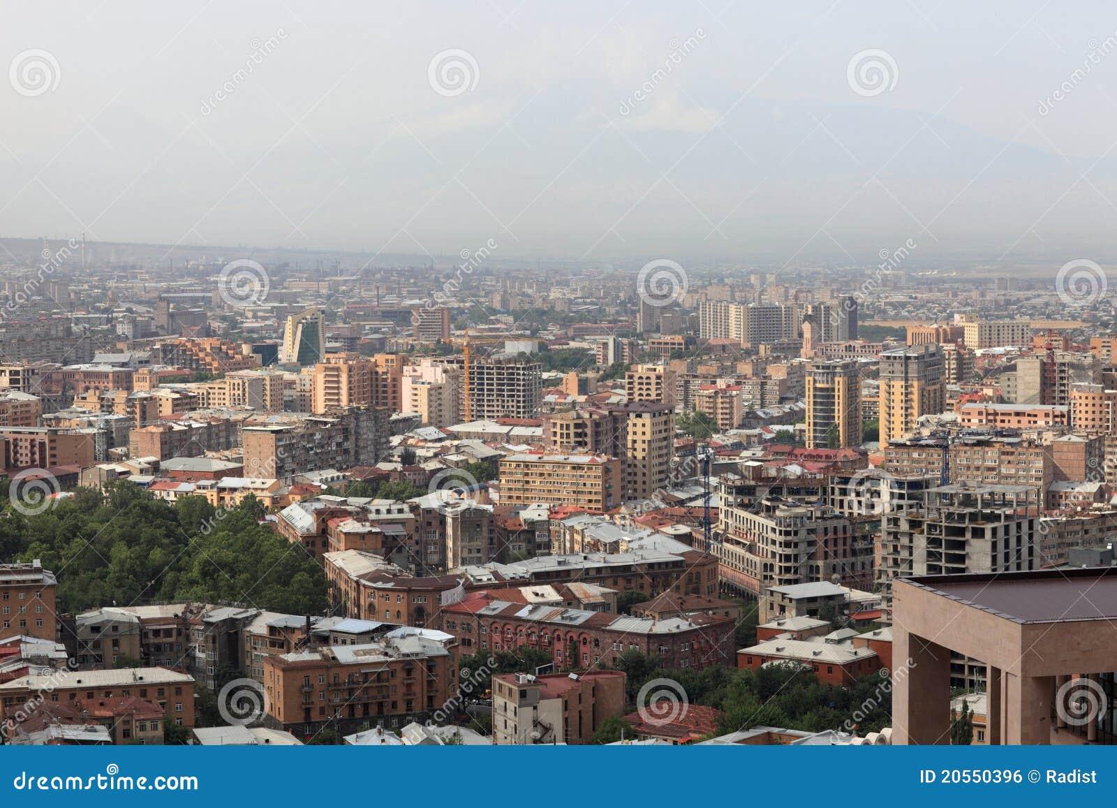 Mening van Yerevan