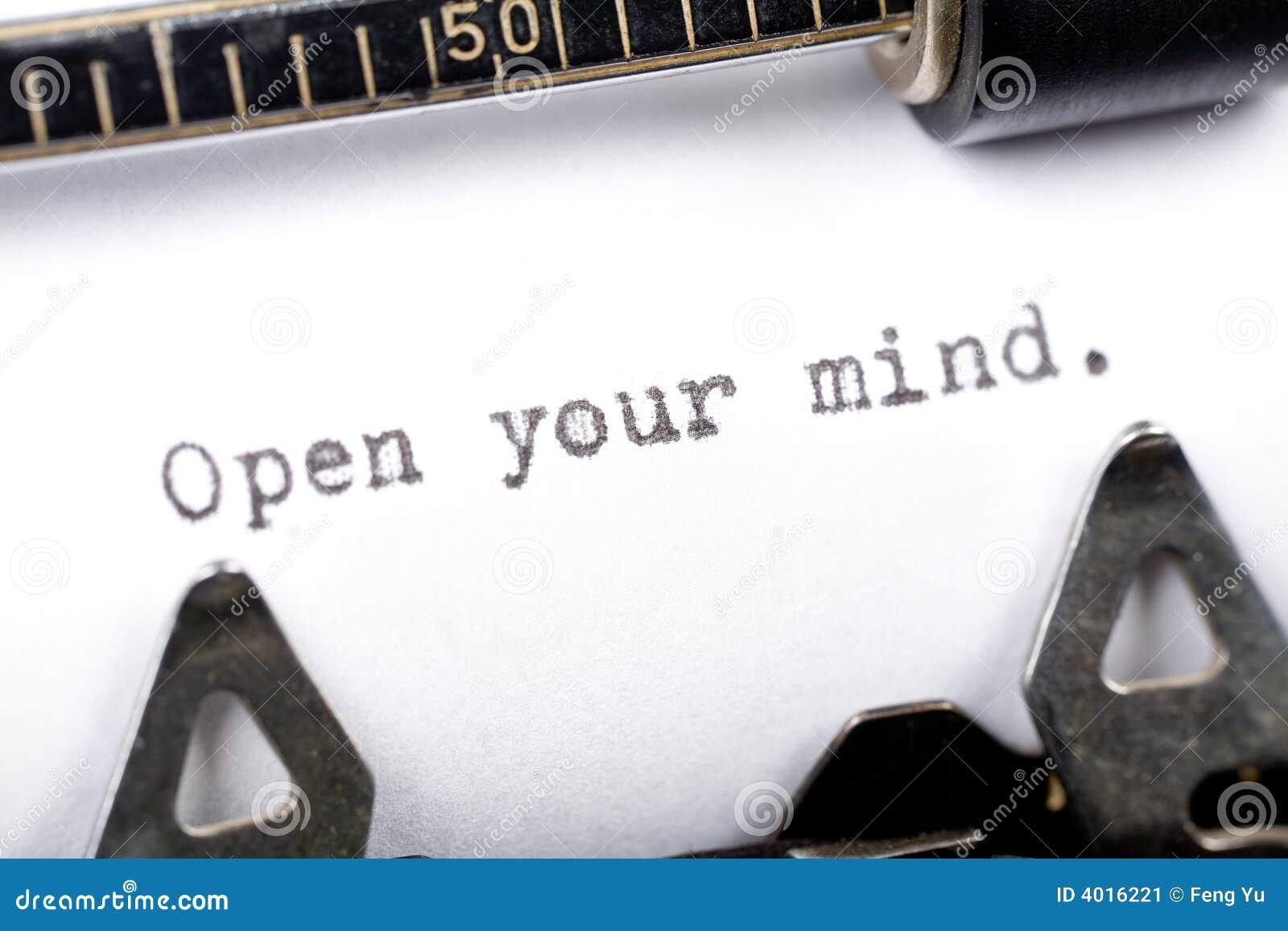 Meningen öppnar ditt