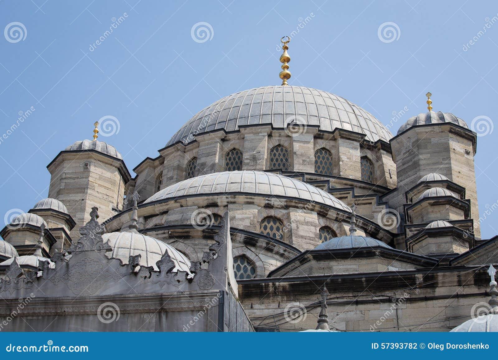Meningsdak de Suleymaniye-Moskee in Istanboel, Turkije