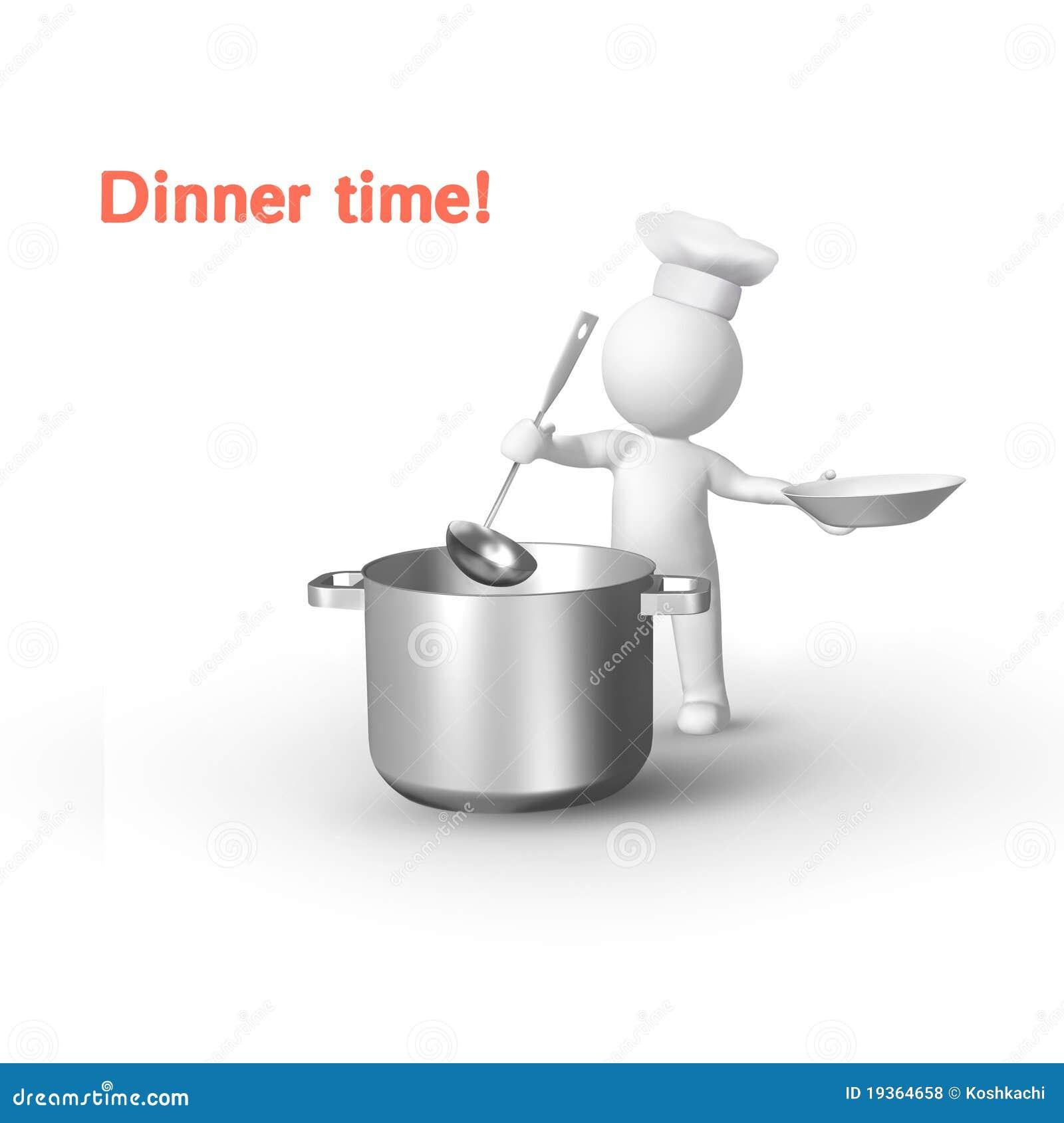 Menino da cozinha
