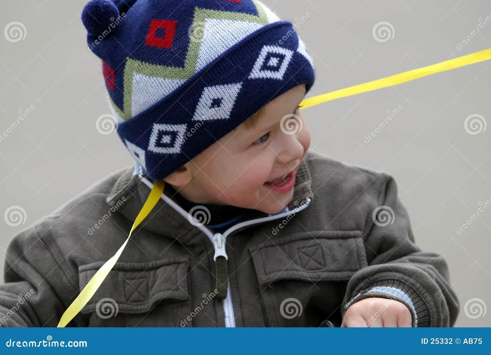 Menino feliz