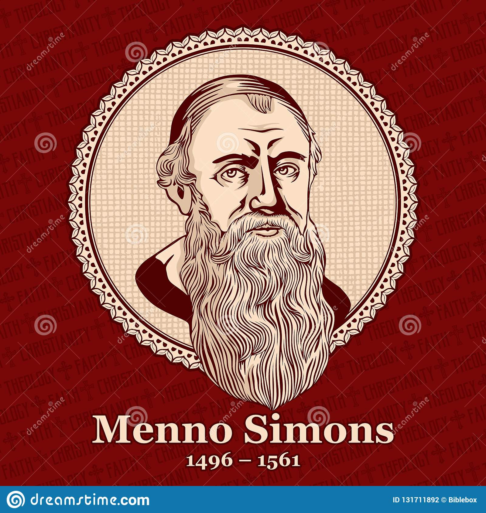 Menno Simons 1496 – 1561 was an outstanding leader of the Anabaptist  movement in