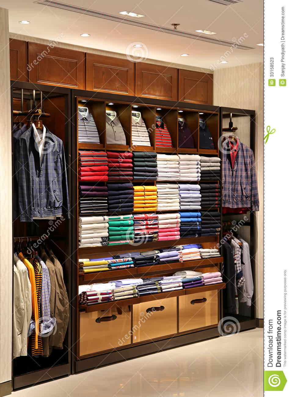 mens clothing store editorial stock photo image 33158523