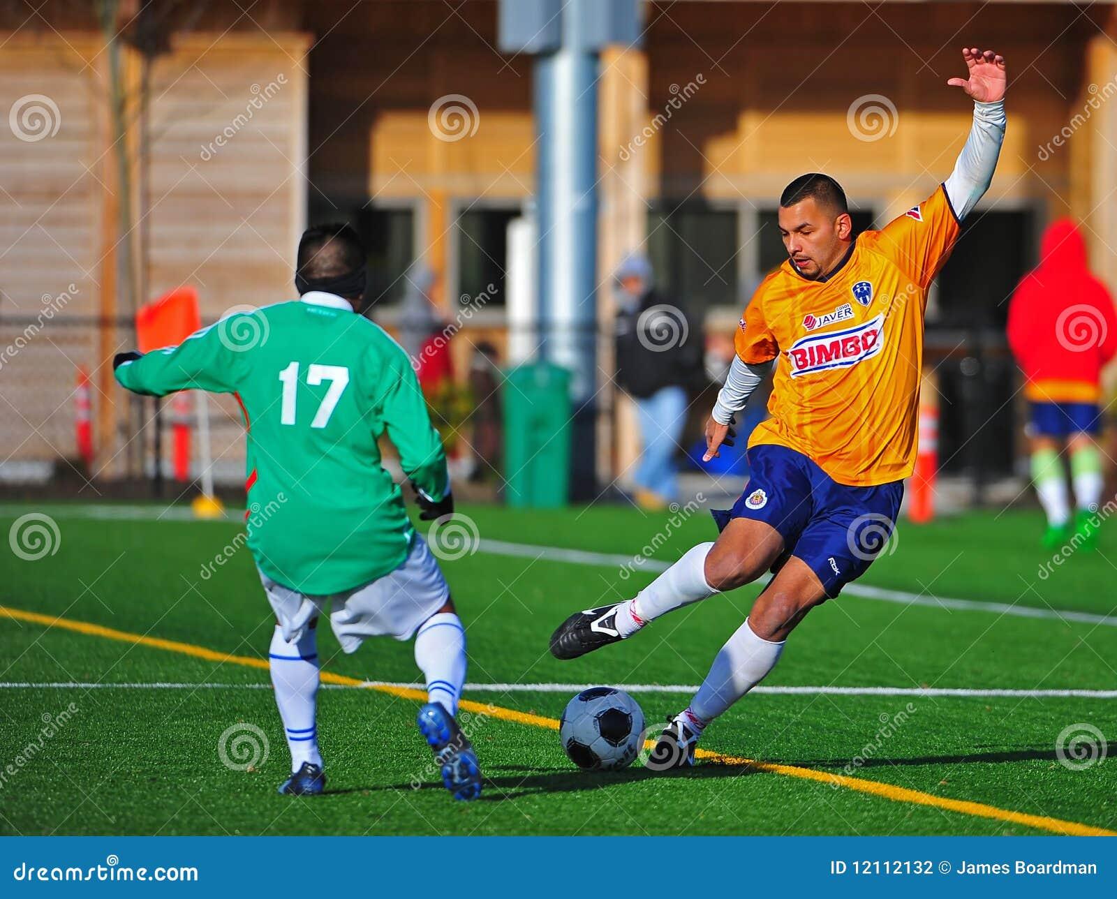 Mens club Soccer ball control