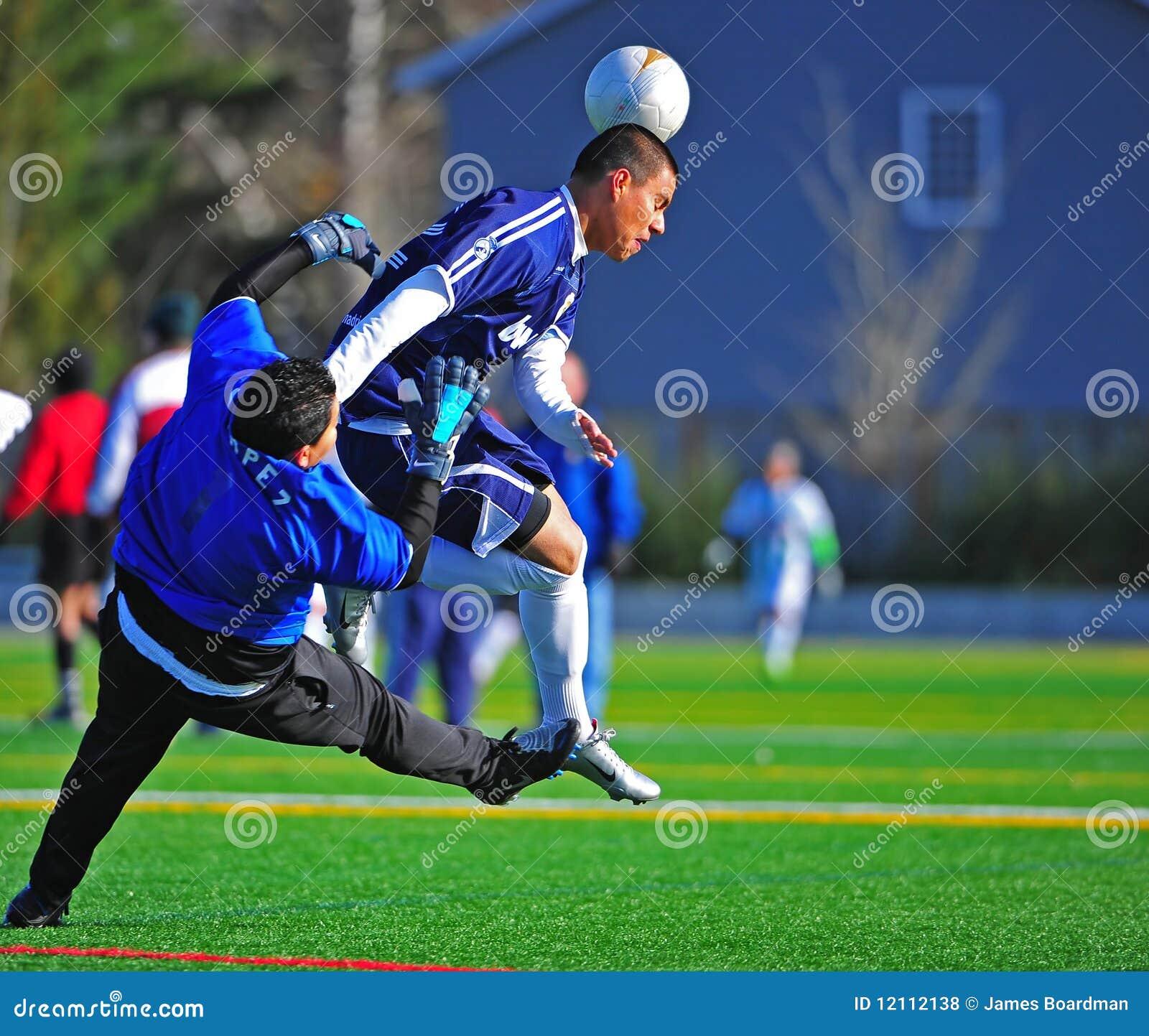 Mens club Soccer goal