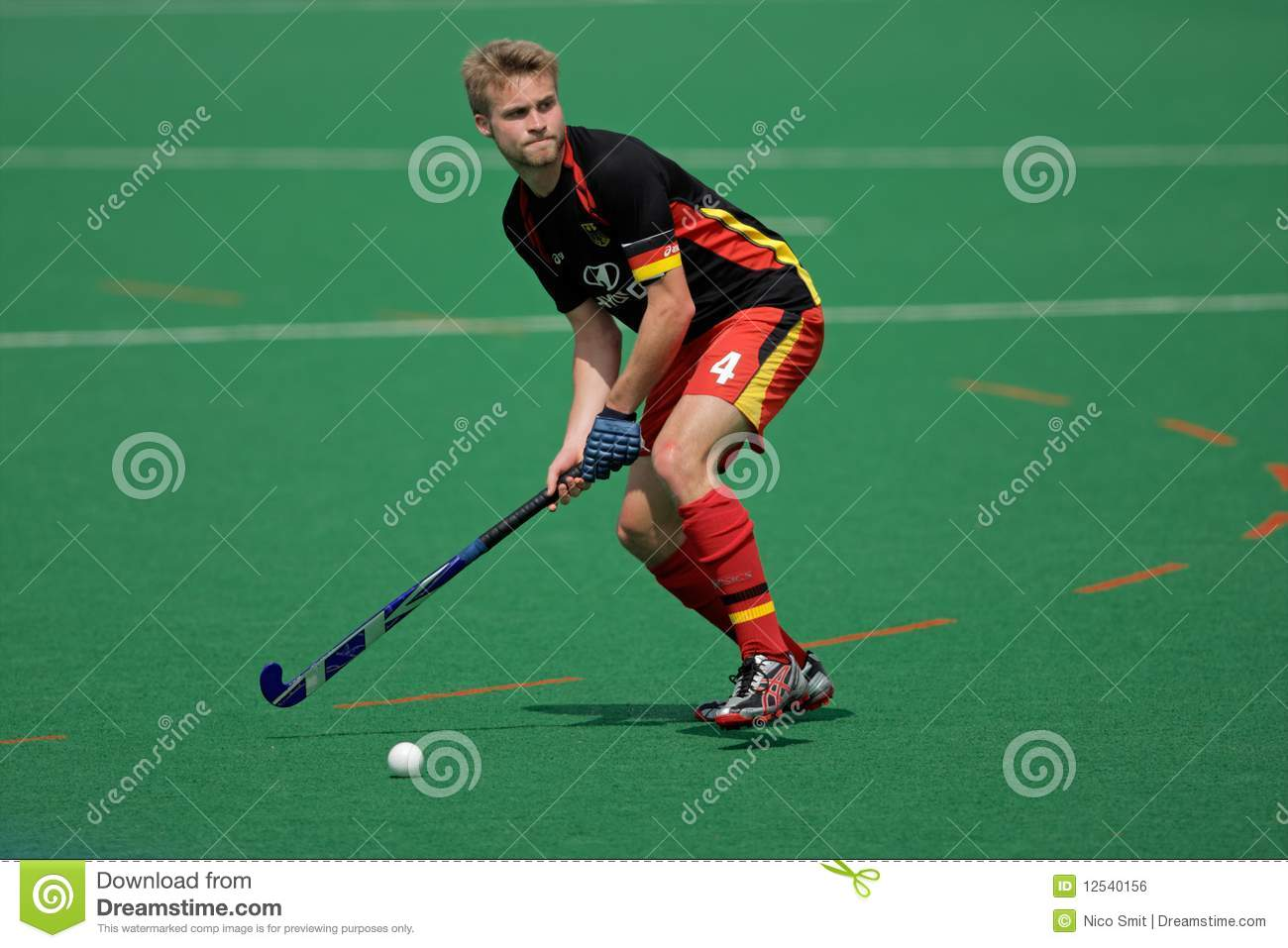 how to become a professional field hockey player