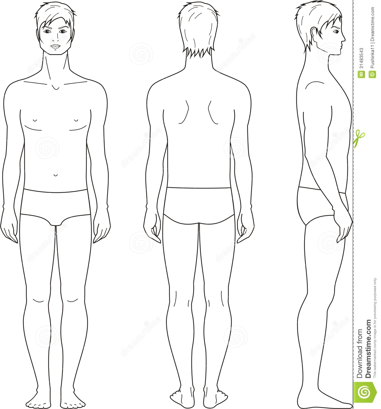 Mens Figure Stock Illustrations 159 Vectors Clipart