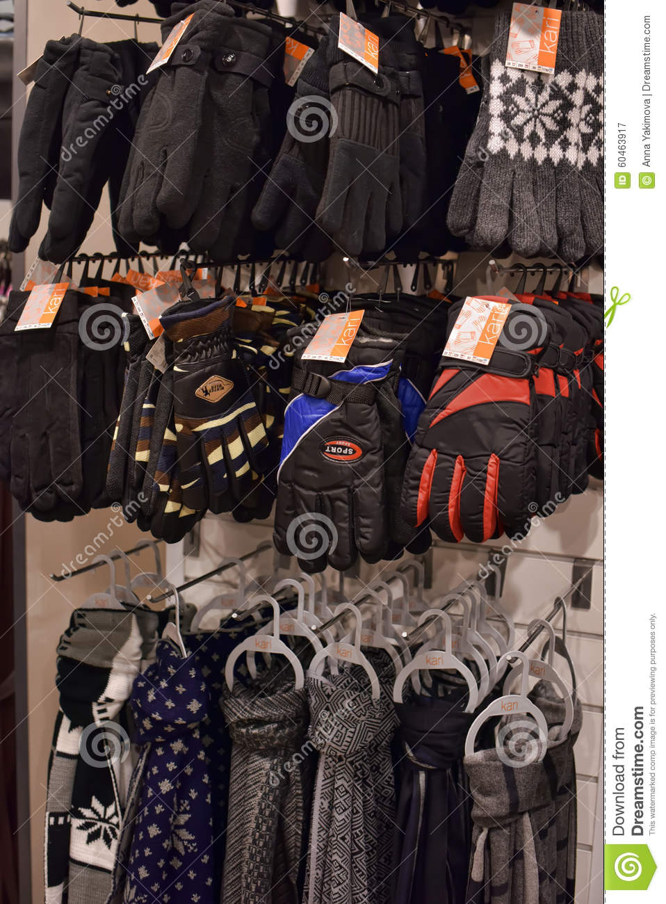 Mens Winter Clothing Store Editorial Image | CartoonDealer ...