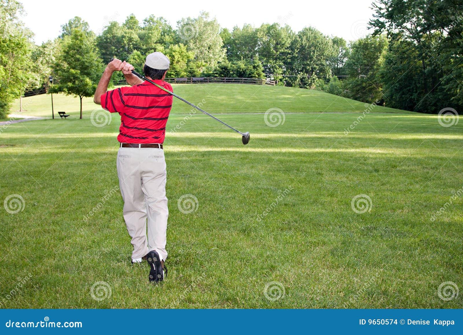 Mens Golfing