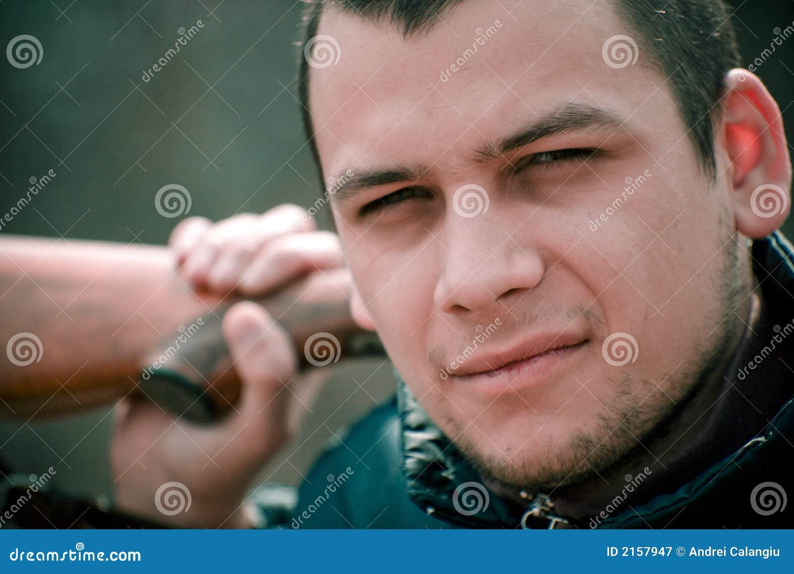 Mens met Jachtgeweer