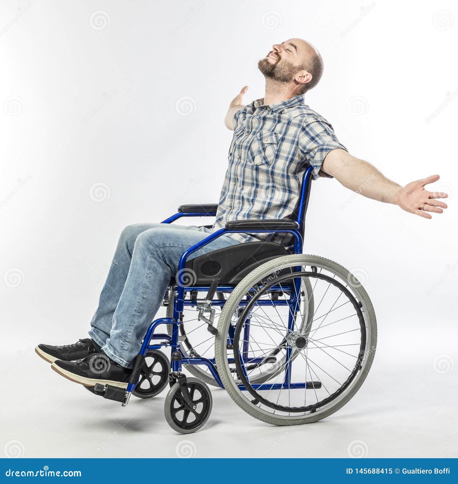 Mens op wheelschair
