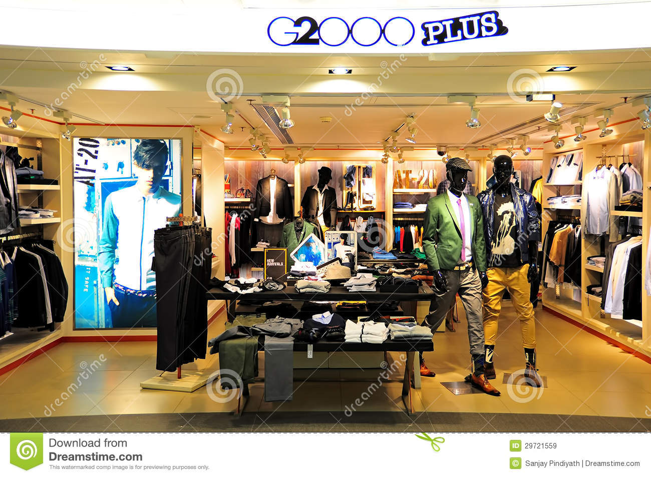 G2000 Plus Apparel Store, Hong Kong Editorial Stock Image ...