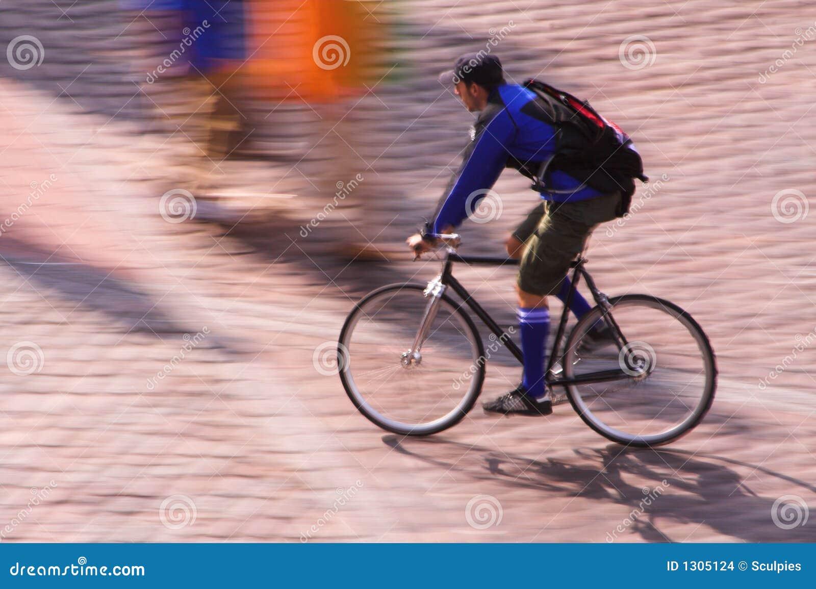 Mensageiro da bicicleta