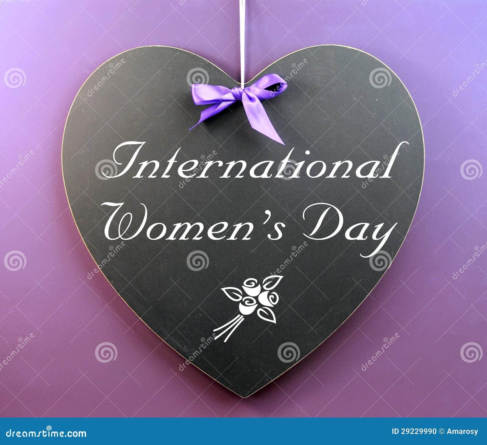 Download Mensagem Do Dia Das Mulheres Internacionais Escrita No Quadro-negro Da Forma Do Coração Foto de Stock - Imagem de mensagem, bonito: 29229990
