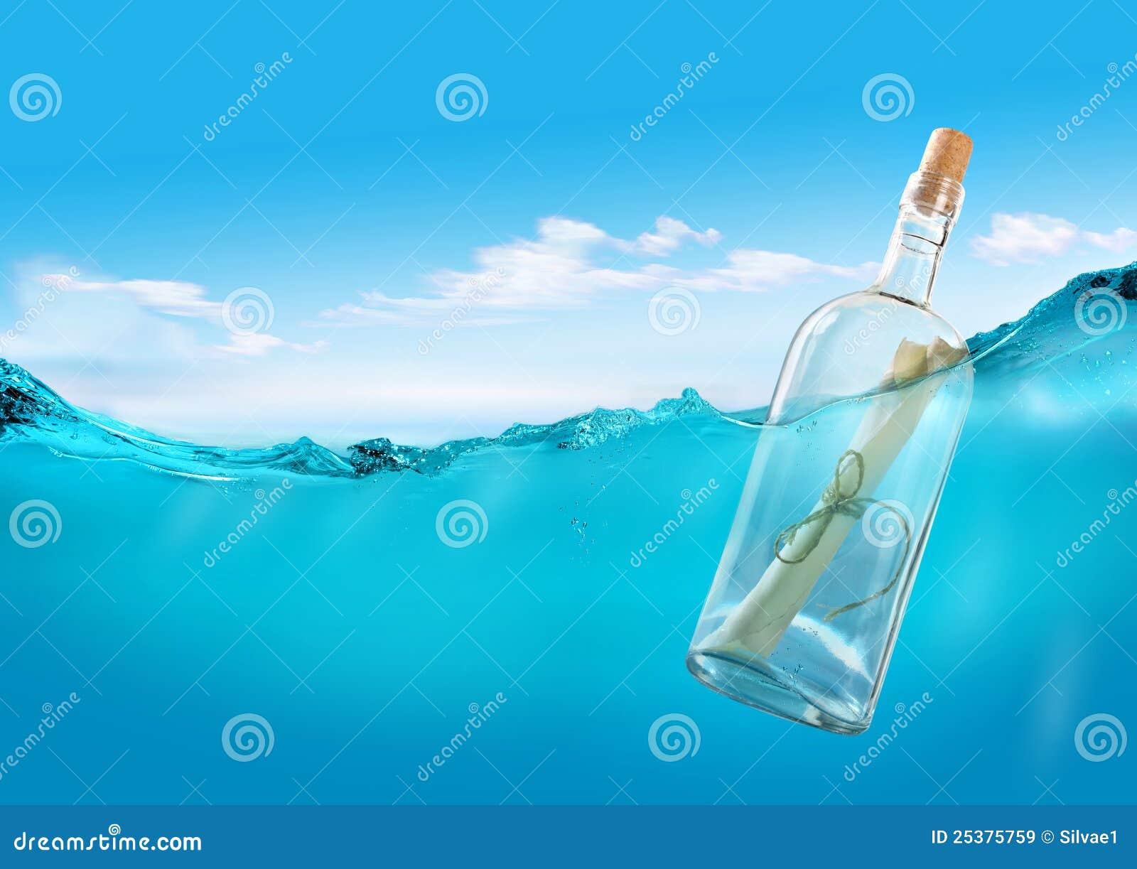 Mensaje en el océano