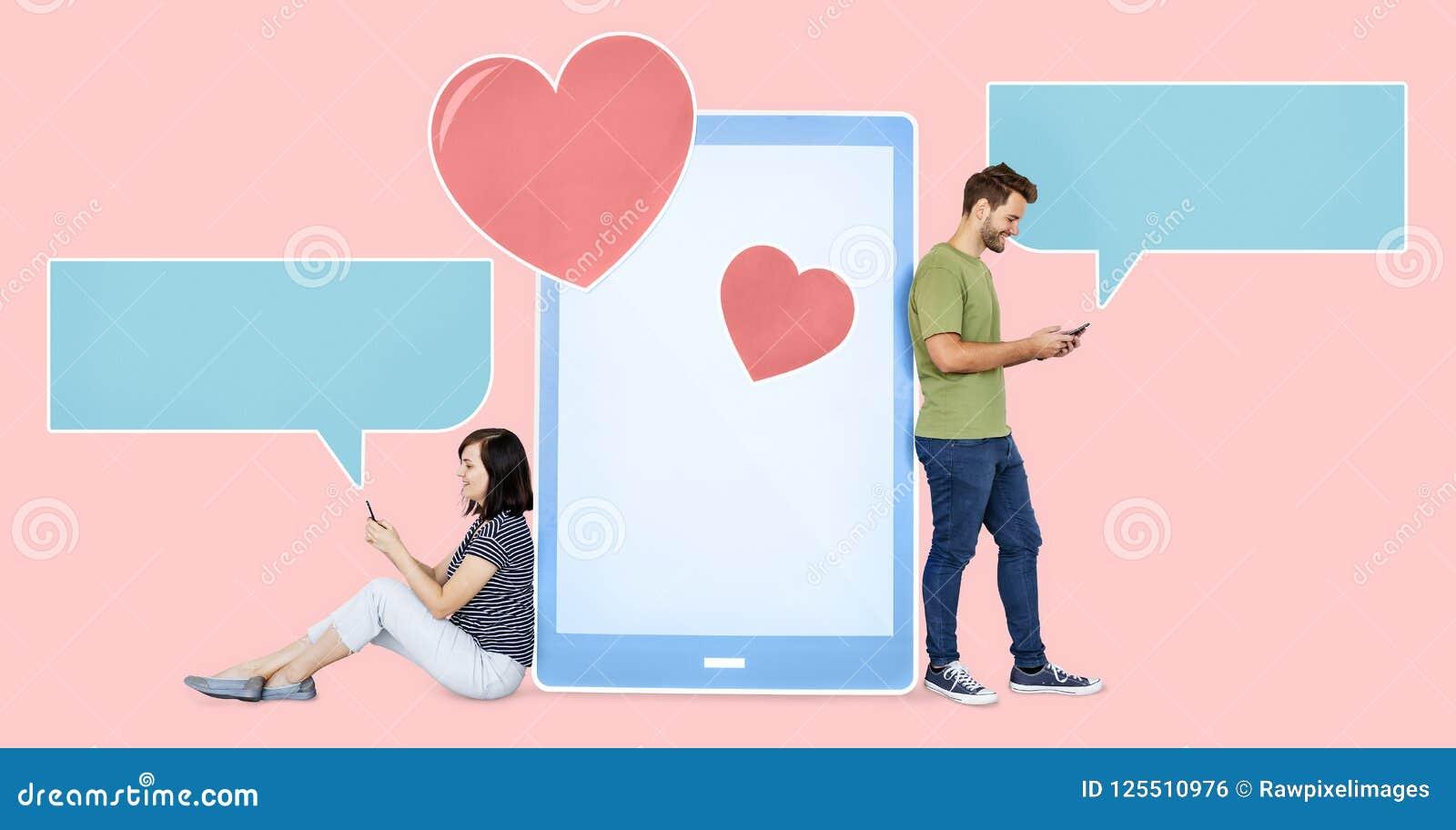 mensajes cariñosos que mandan un sms de los pares el uno al otro