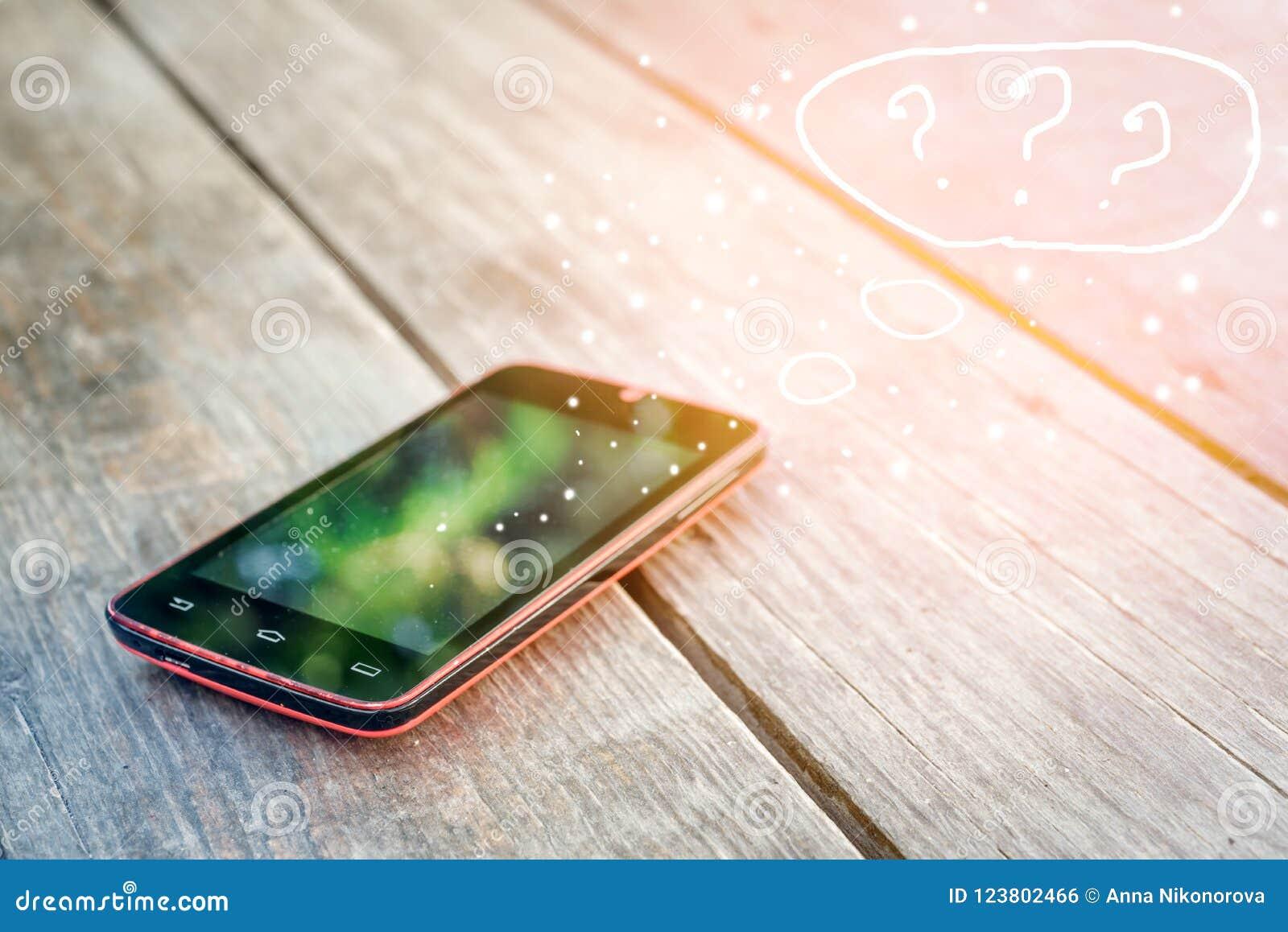Mensajes de SMS y el concepto de comunicación sobre email