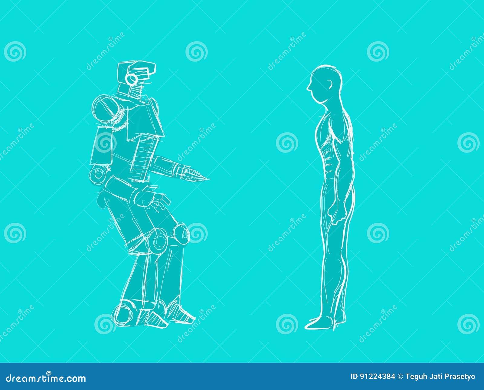 Abbildung 3: Die zwei wichtigsten Fälle beim Kontakt zwischen Roboter... |  Download Scientific Diagram