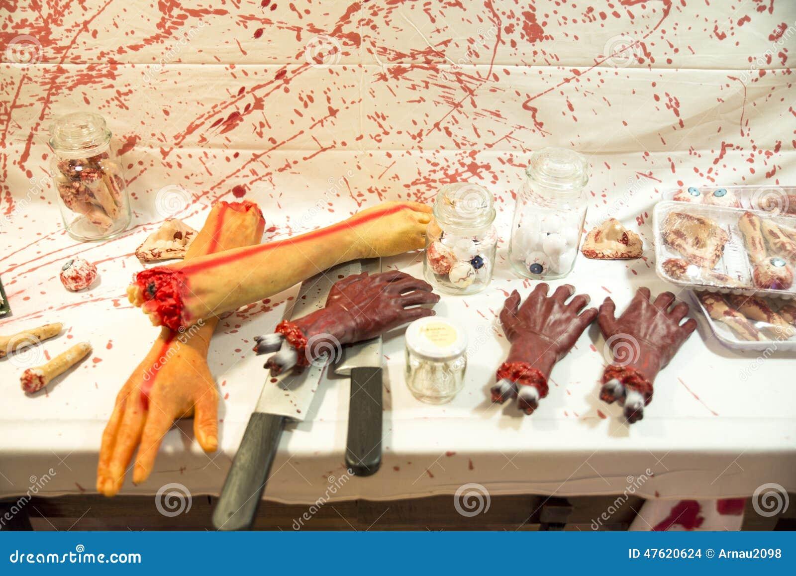 mensch geschlachtet auf einer tabelle stockfoto bild von verbrechen h nde 47620624. Black Bedroom Furniture Sets. Home Design Ideas