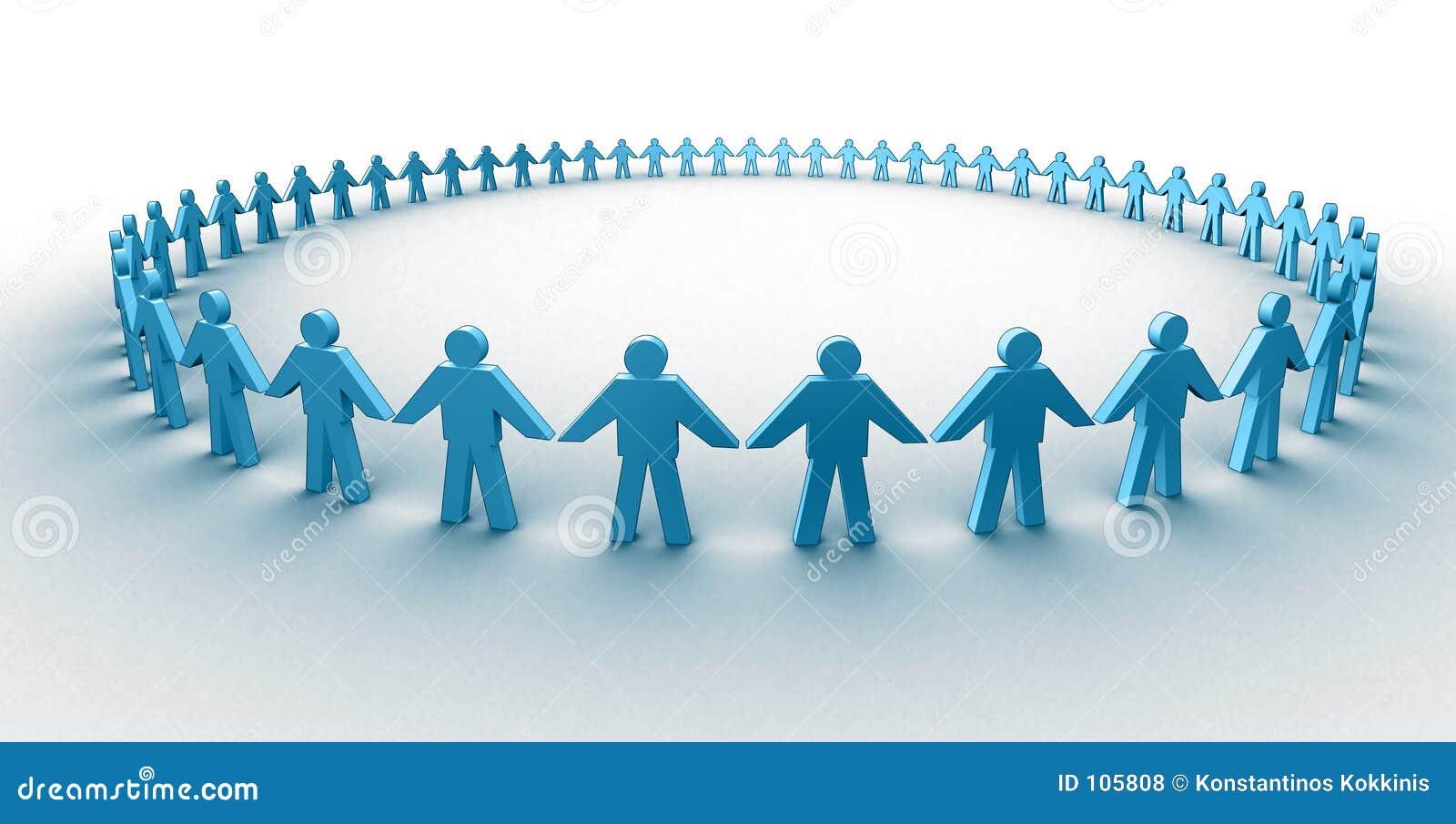 Menschlicher Kreis