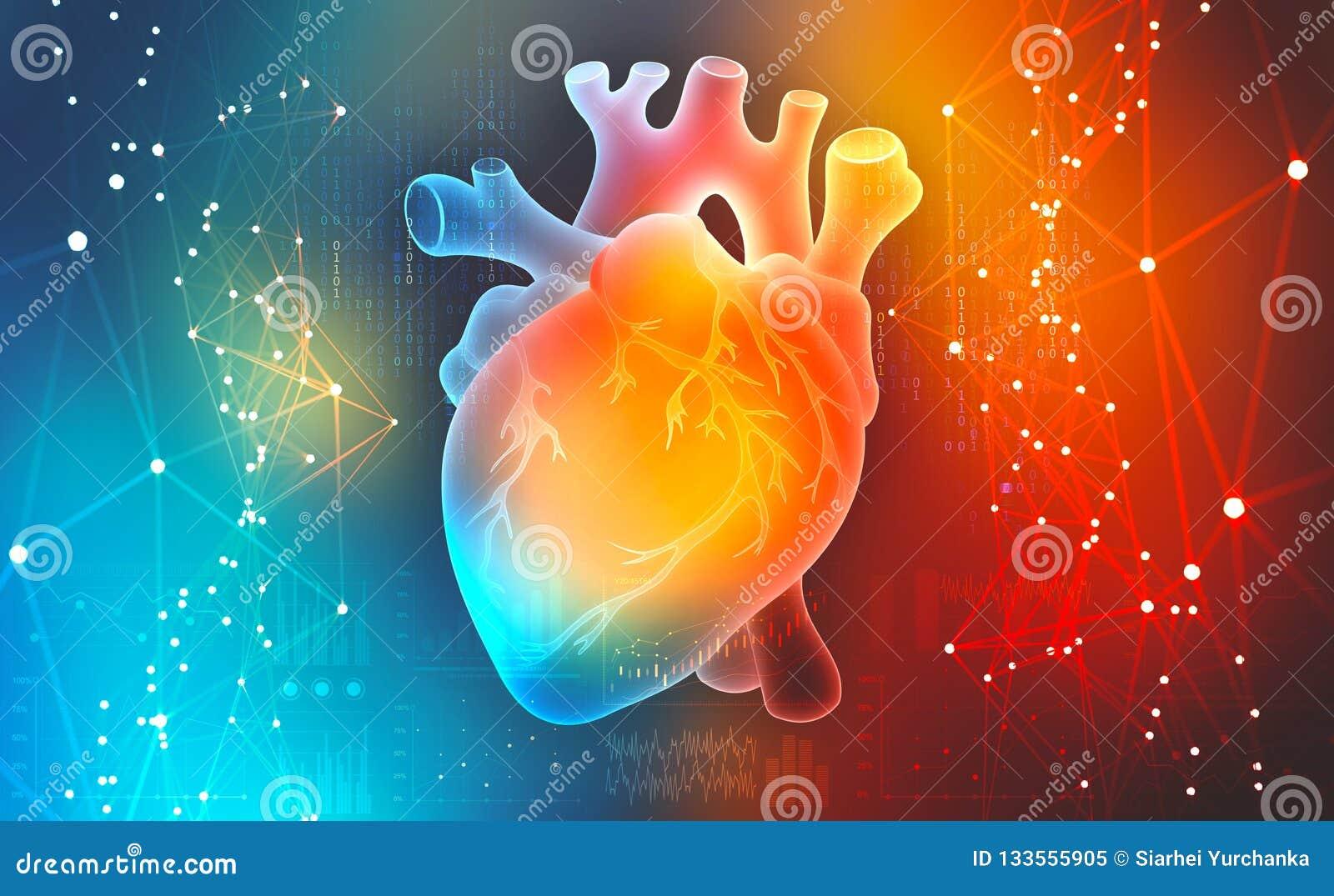 Menselijk hart Digitale technologieën in geneeskunde Innovaties in gezondheidszorg