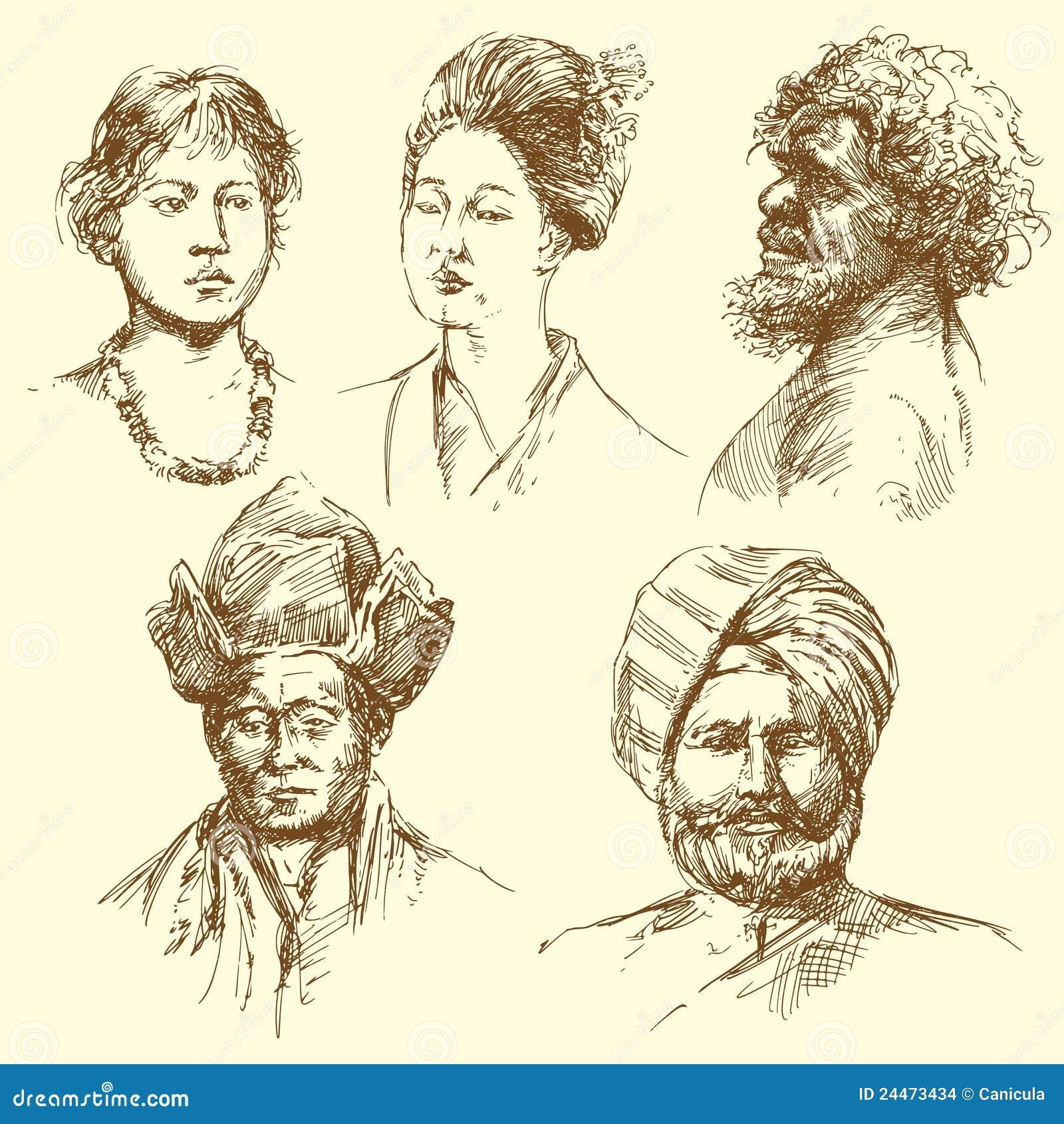 Menselijke diversiteit - portretten