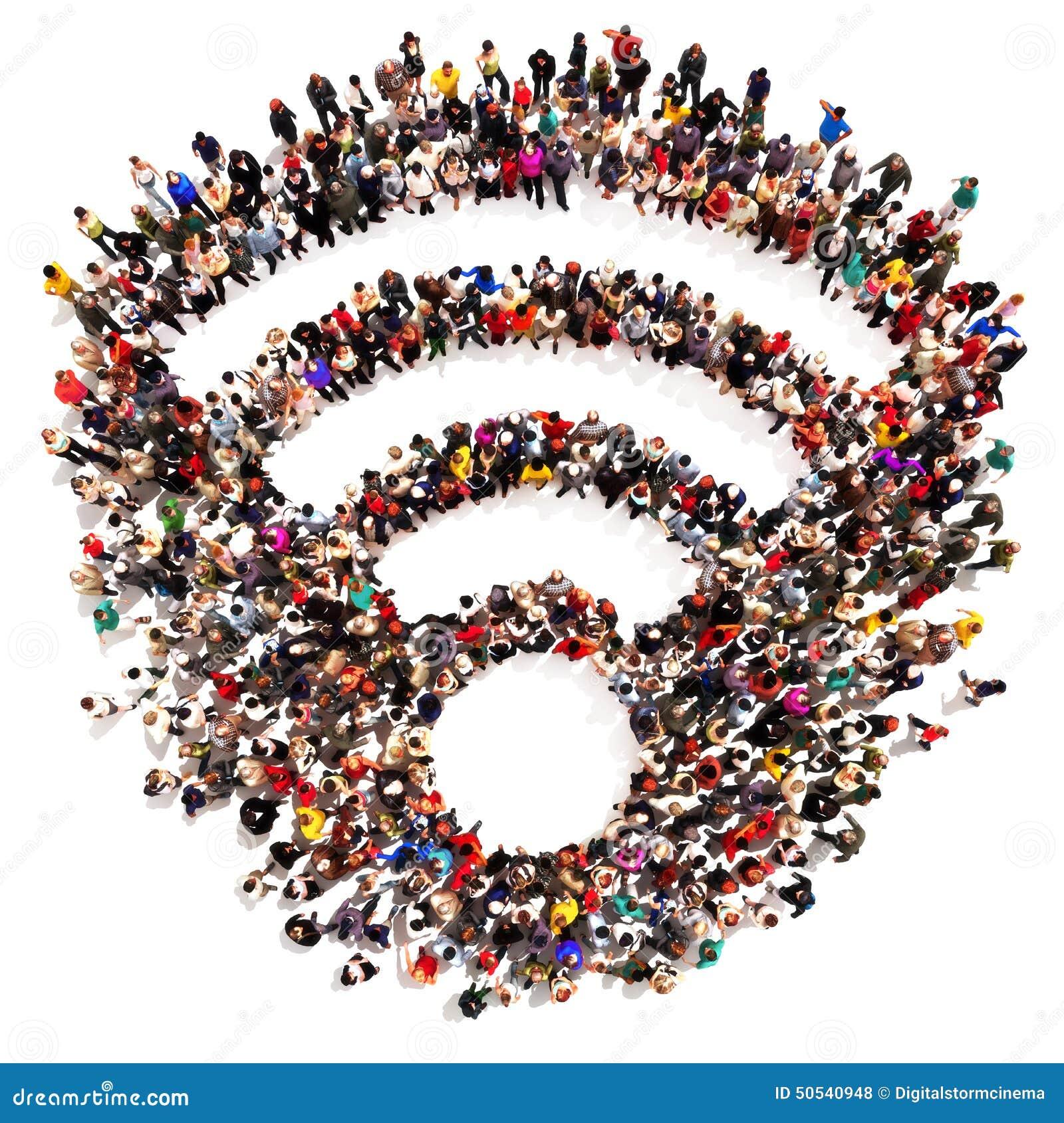 Mensen die verbonden worden