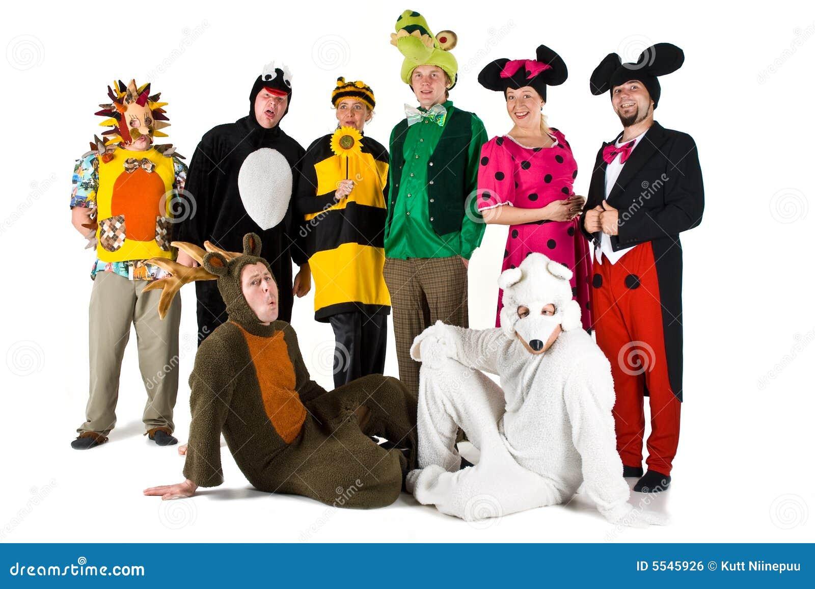 Mensen in Kostuums