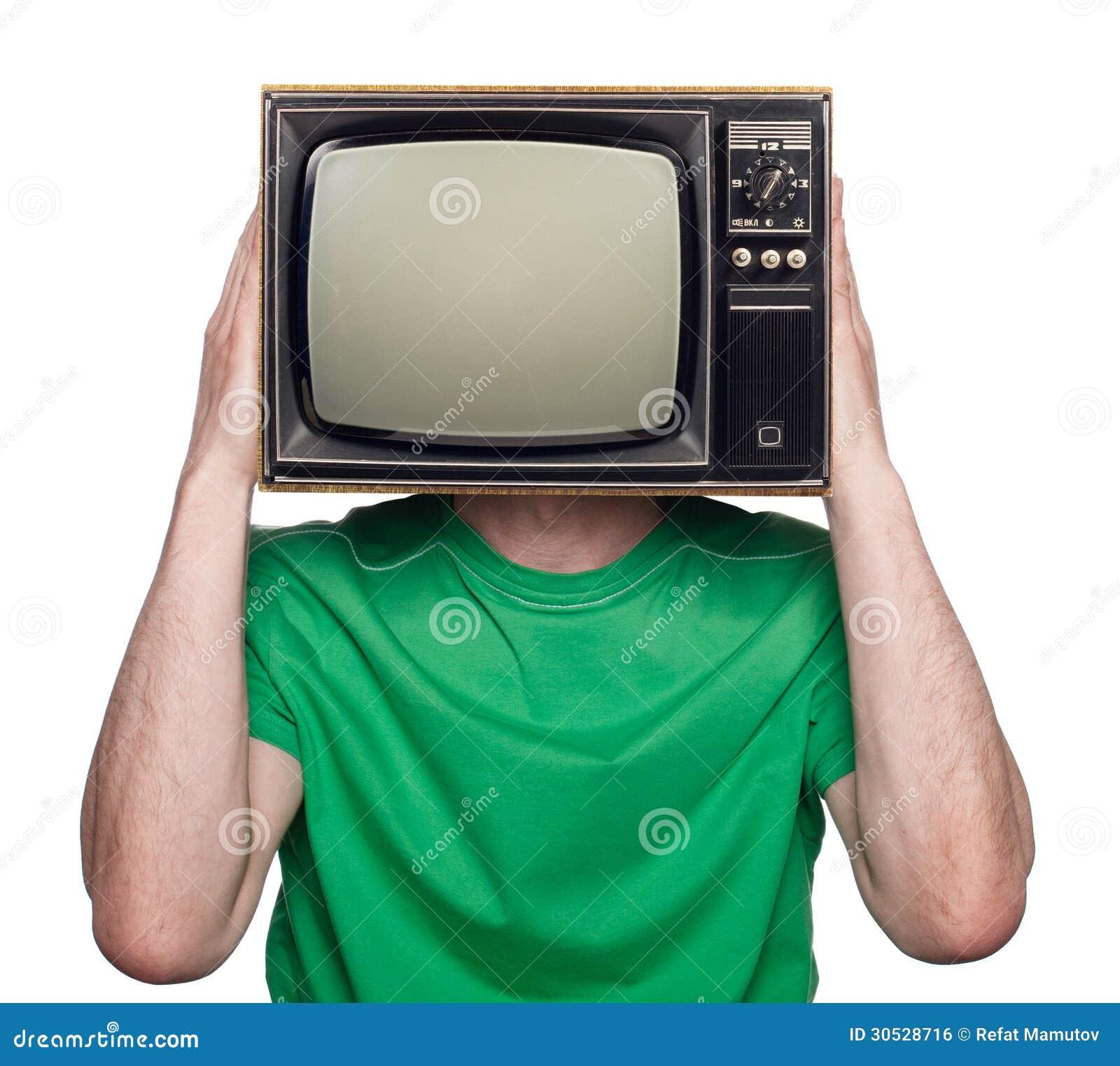 Mensen met een TV