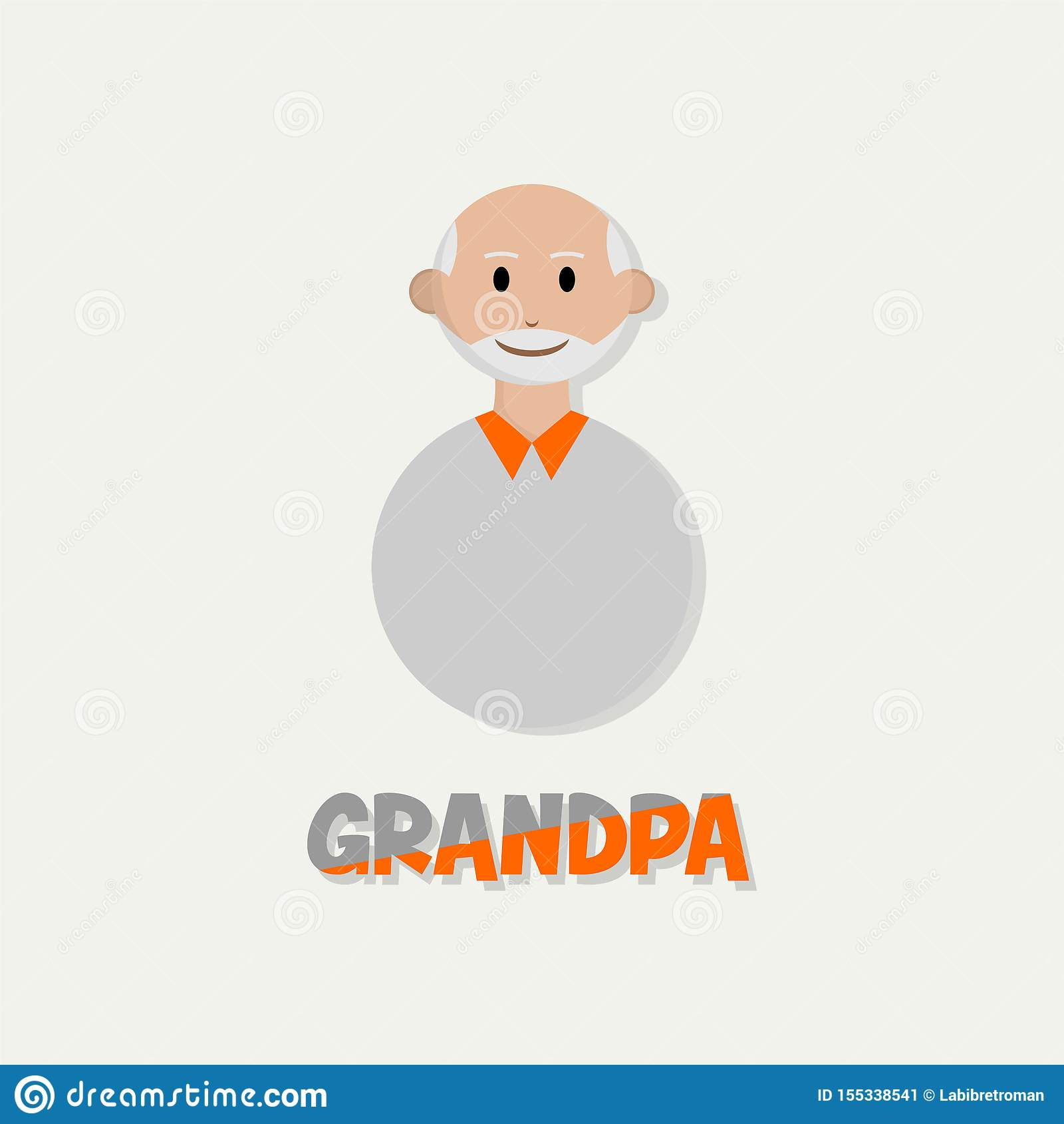 Mensen oldman Pictogram