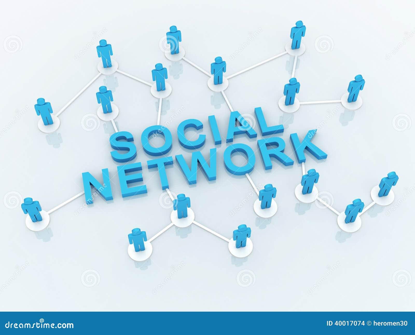 Mensen Sociaal Netwerk
