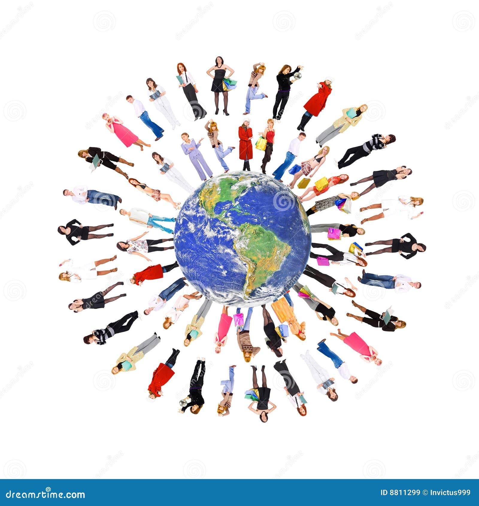 Mensen ter wereld