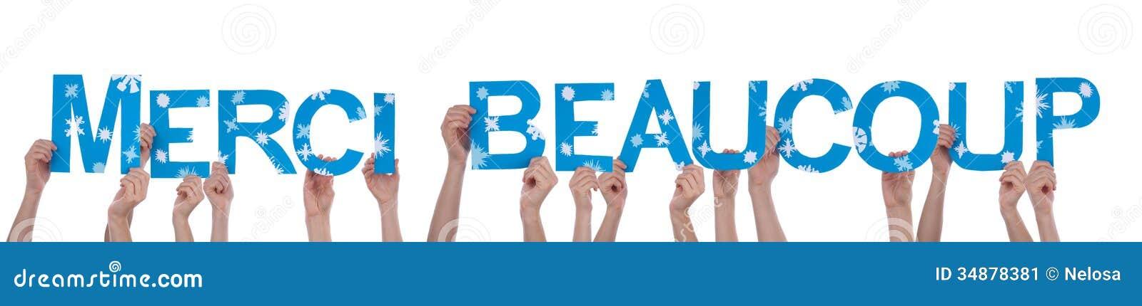 Mensenholding Merci Beaucoup
