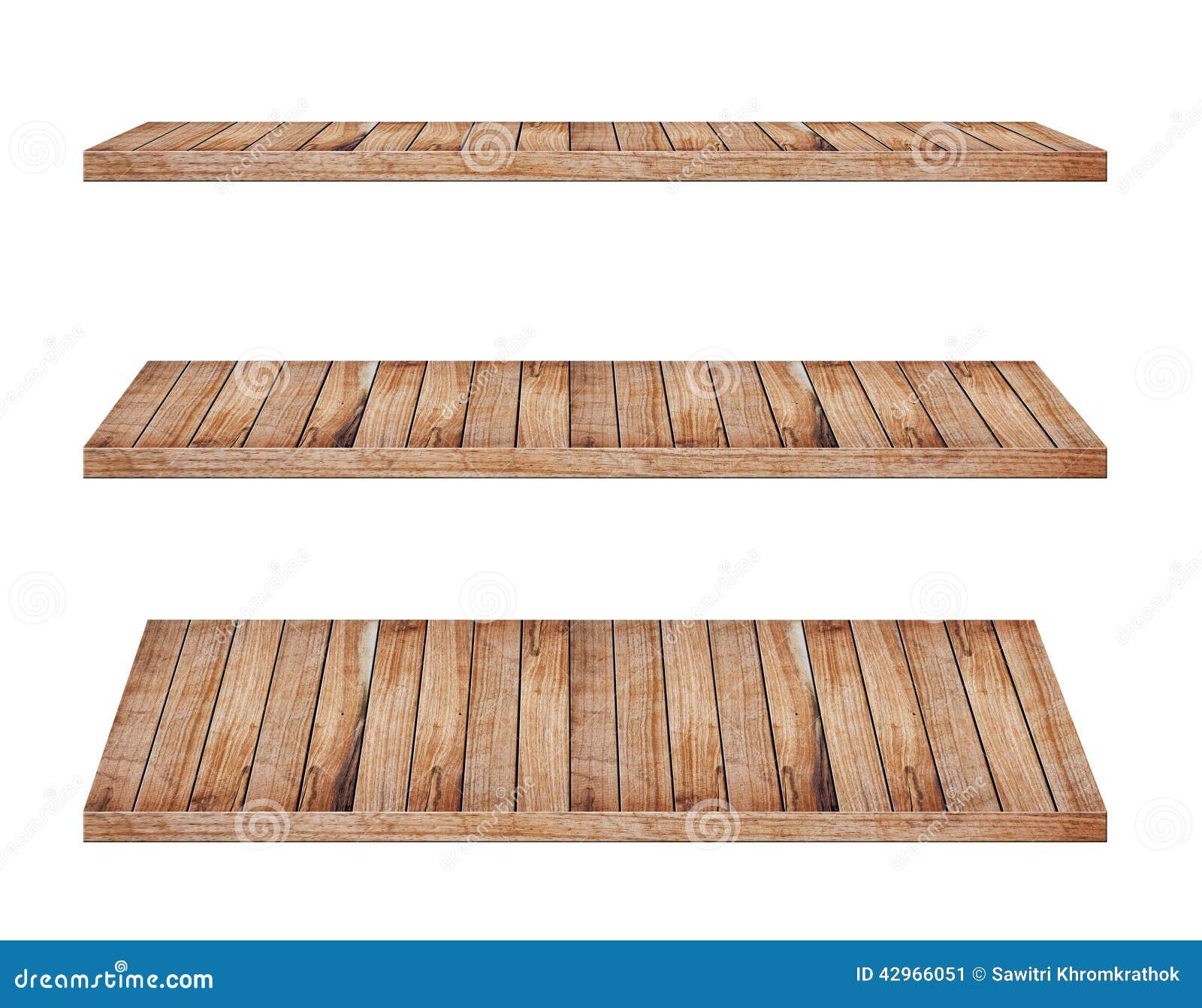 Mensole di legno fotografia stock immagine 42966051 for Mensole legno bianco