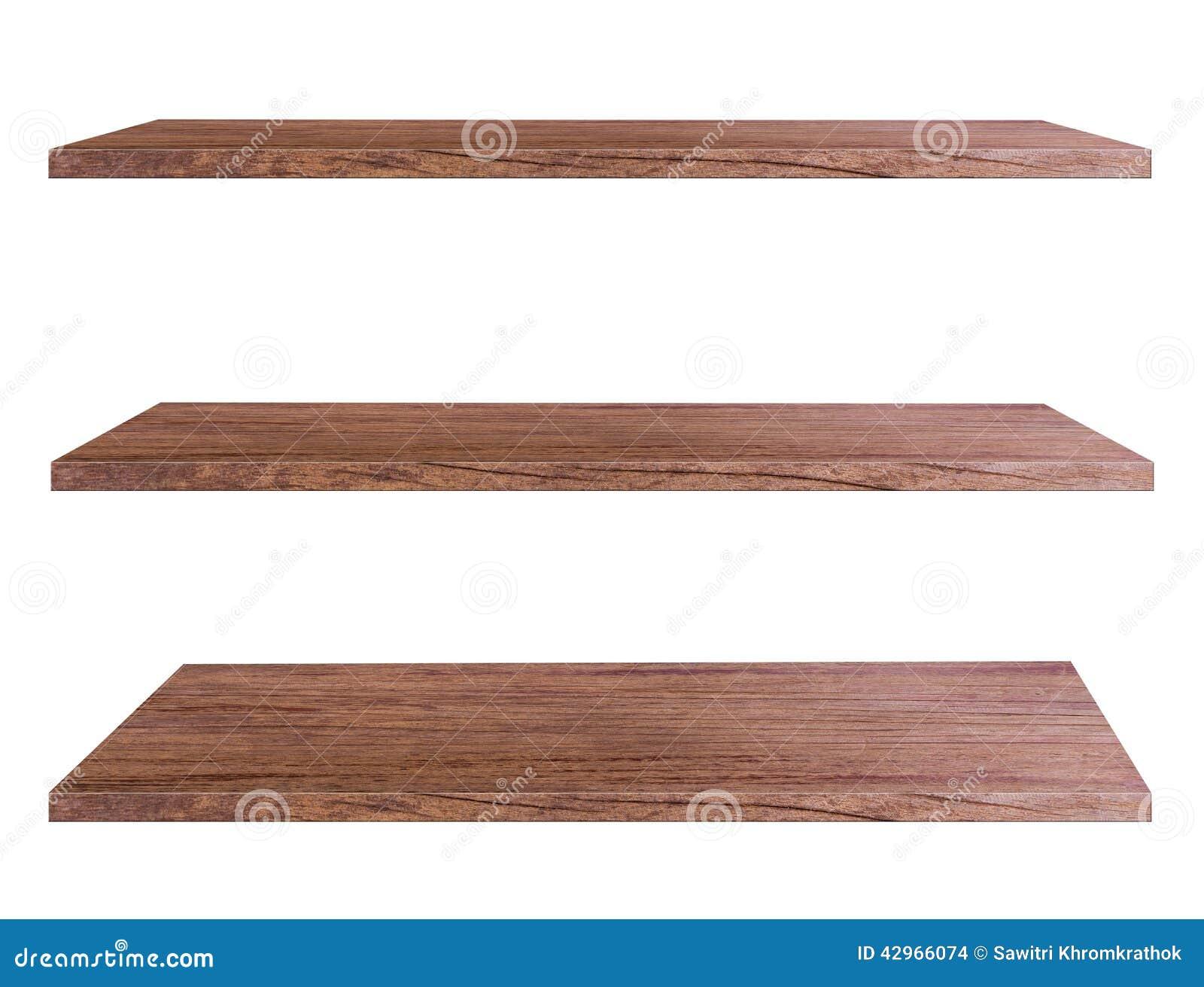 Mensole di legno fotografia stock immagine 42966074 for Mensole legno bianco