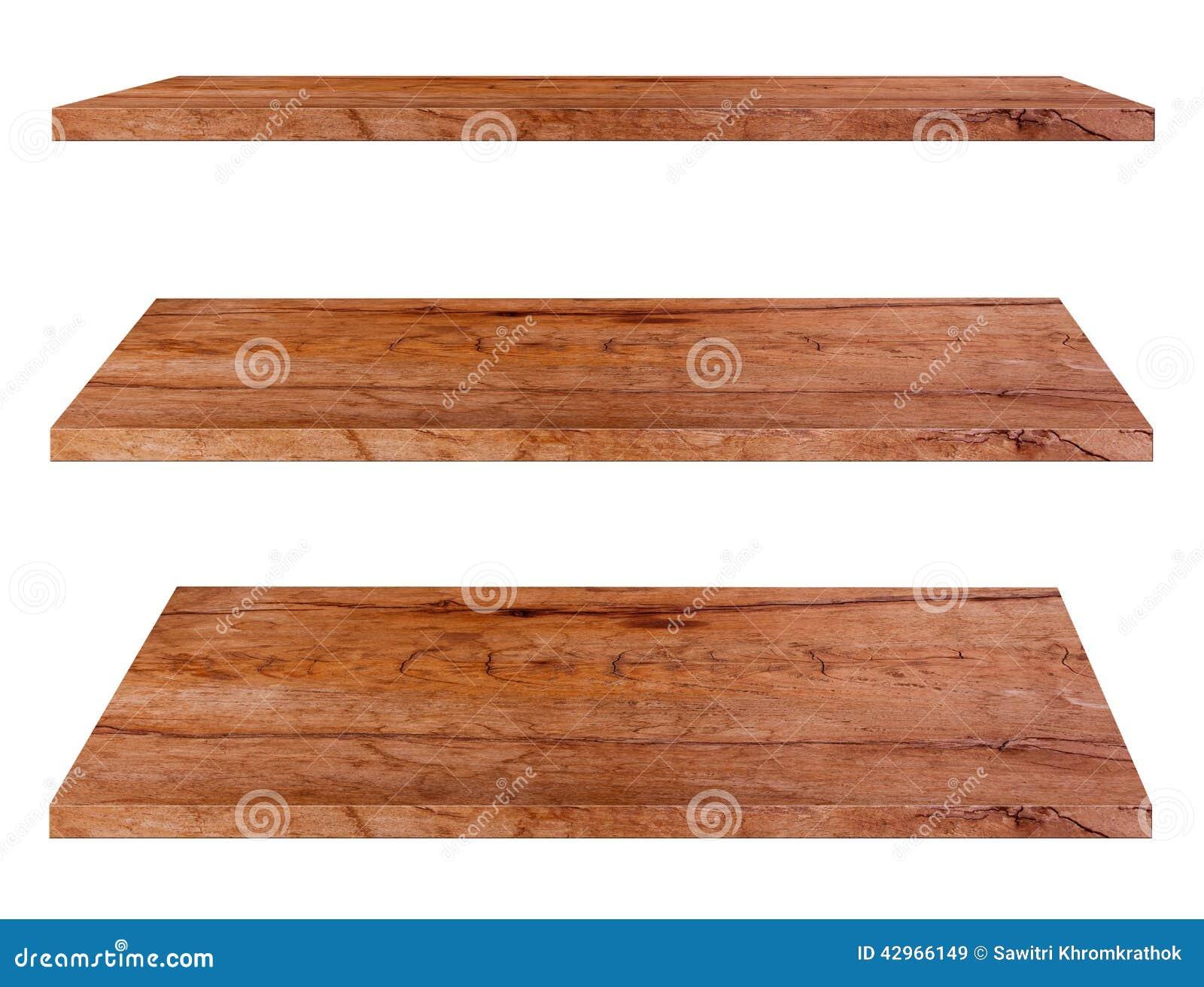 Mensole di legno fotografia stock immagine 42966149 for Mensole legno bianco