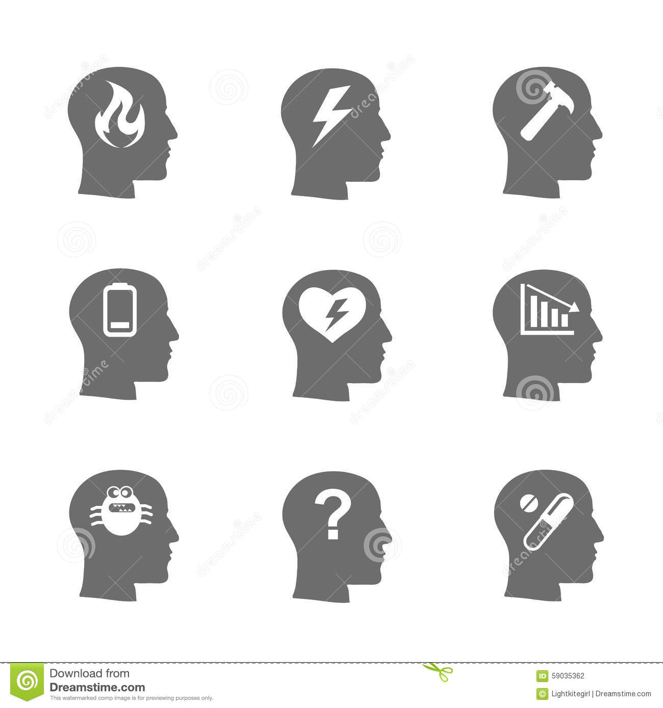Mental stock illustrations 32769 mental stock illustrations mental health icons set stress concept mental health icons set stress concept biocorpaavc Gallery
