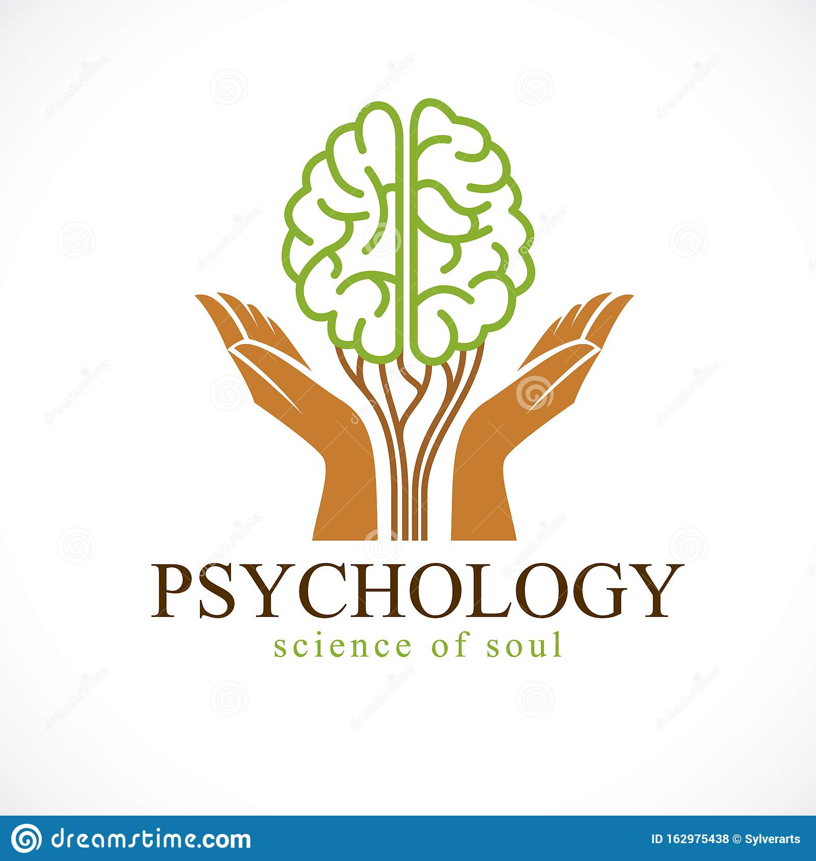 Mental Health And Psychology Concept, Vector Icon Or Logo ...